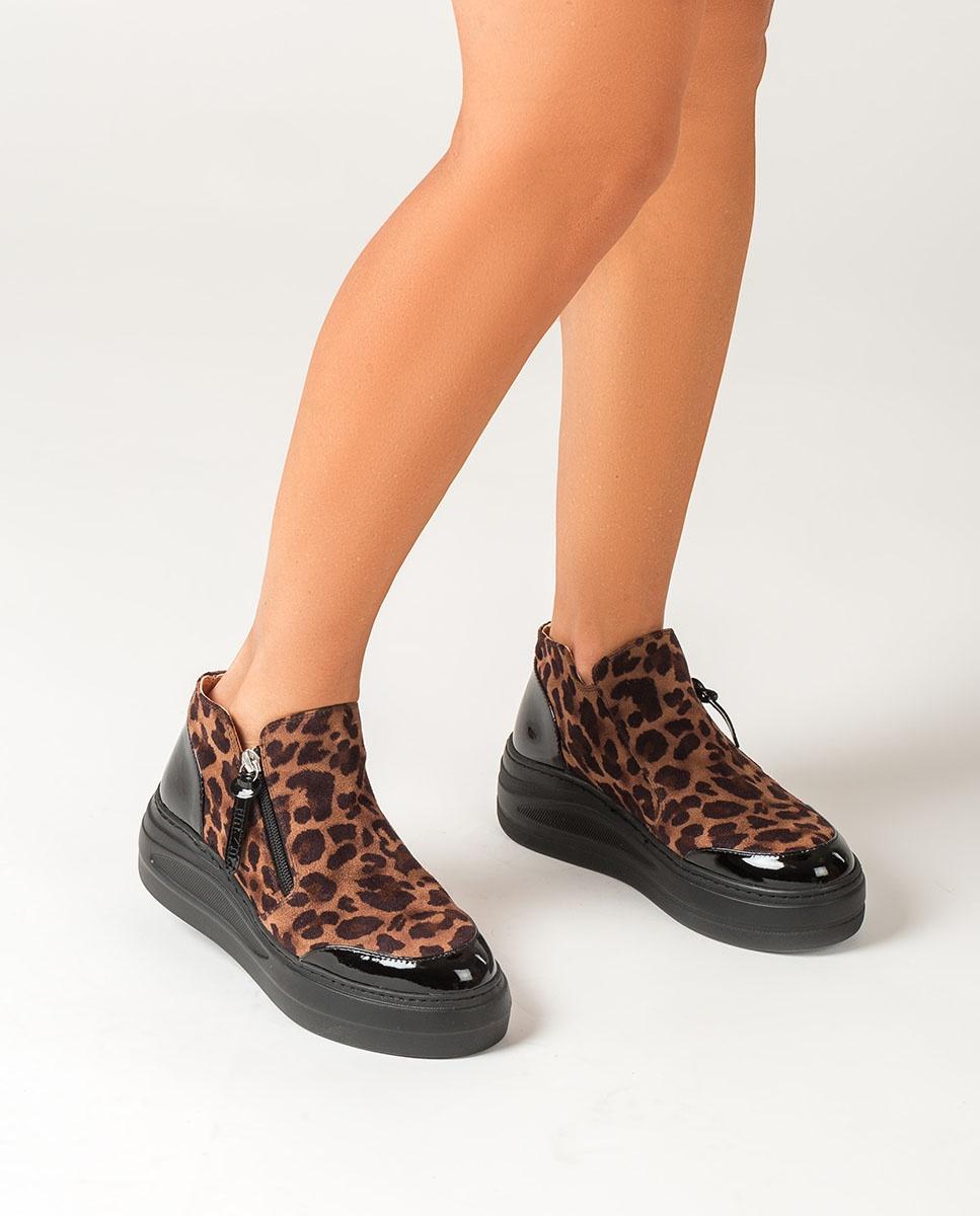 UNISA Hohe Sneaker mit Plateausohle FAZZIO_SDE_PA leo cumin 5