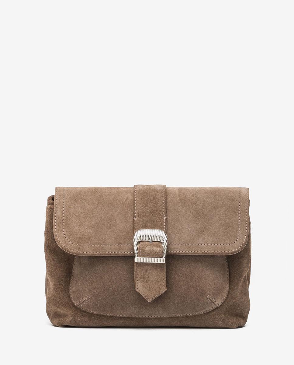 UNISA Handtasche mit Schulterriemen ZDILAN_BS taupe 5
