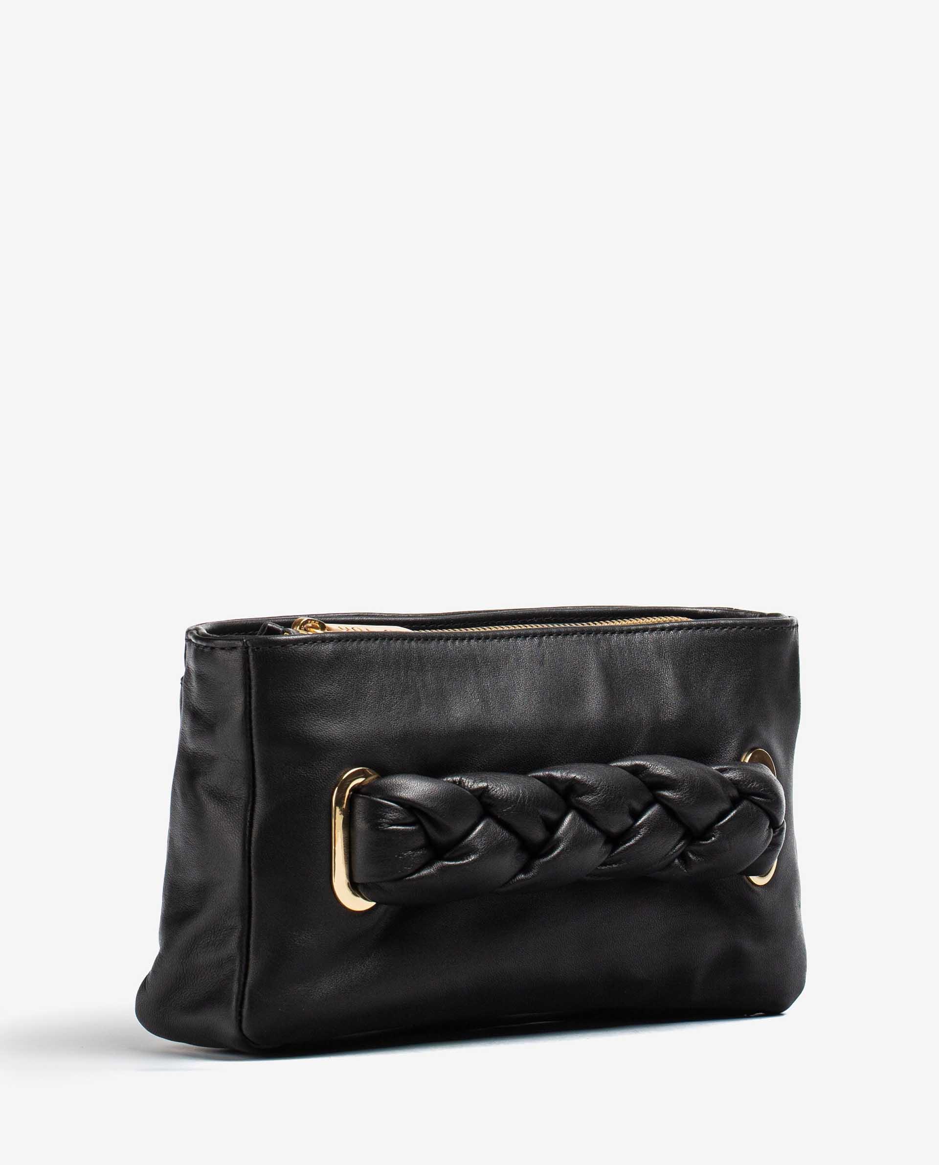 UNISA Handtasche mit Flechtgriff ZFORIS_NT 5