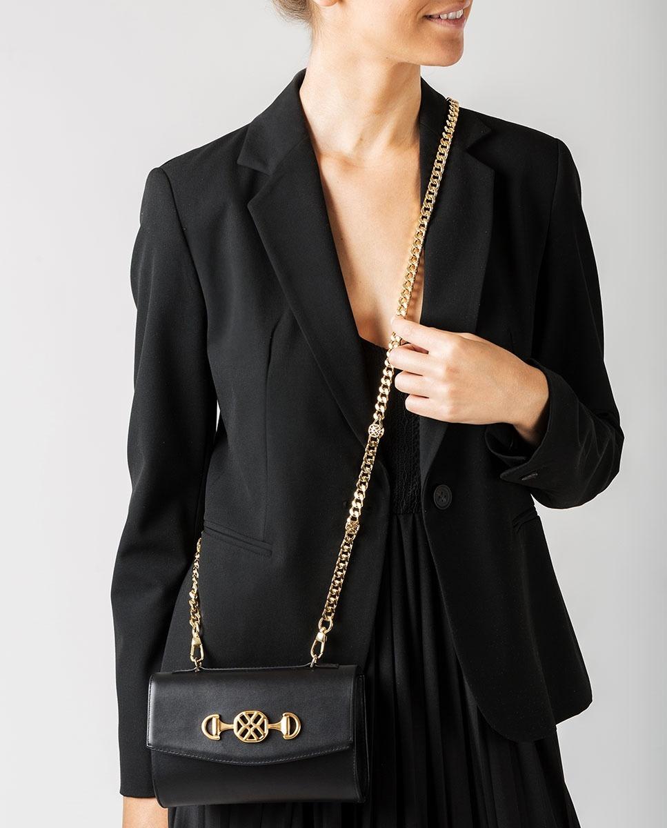 UNISA Handtasche mit Tragegriff ZAINSA_NT black 5