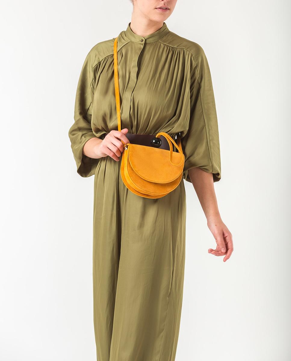 UNISA Handtasche mit Trageriemen ZANICE_KS mustard 5