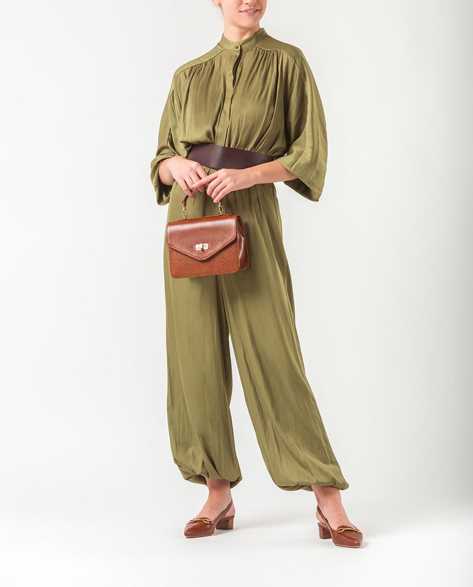 UNISA Handtasche mit Schulterriemen ZGASOL_LI cuir 5