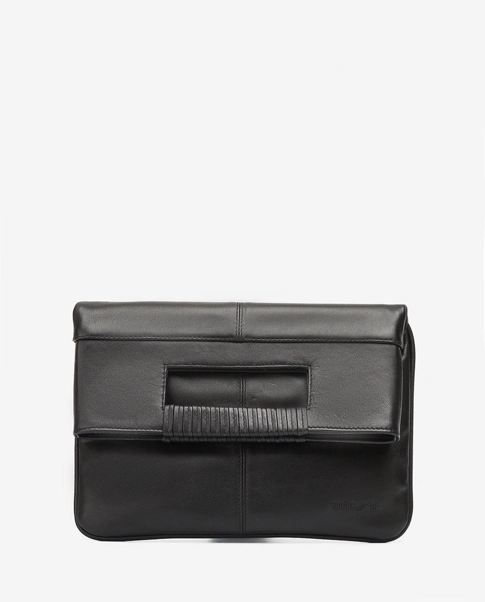 UNISA Handtasche mit doppeltem Umschlag ZKAY_NT black 5