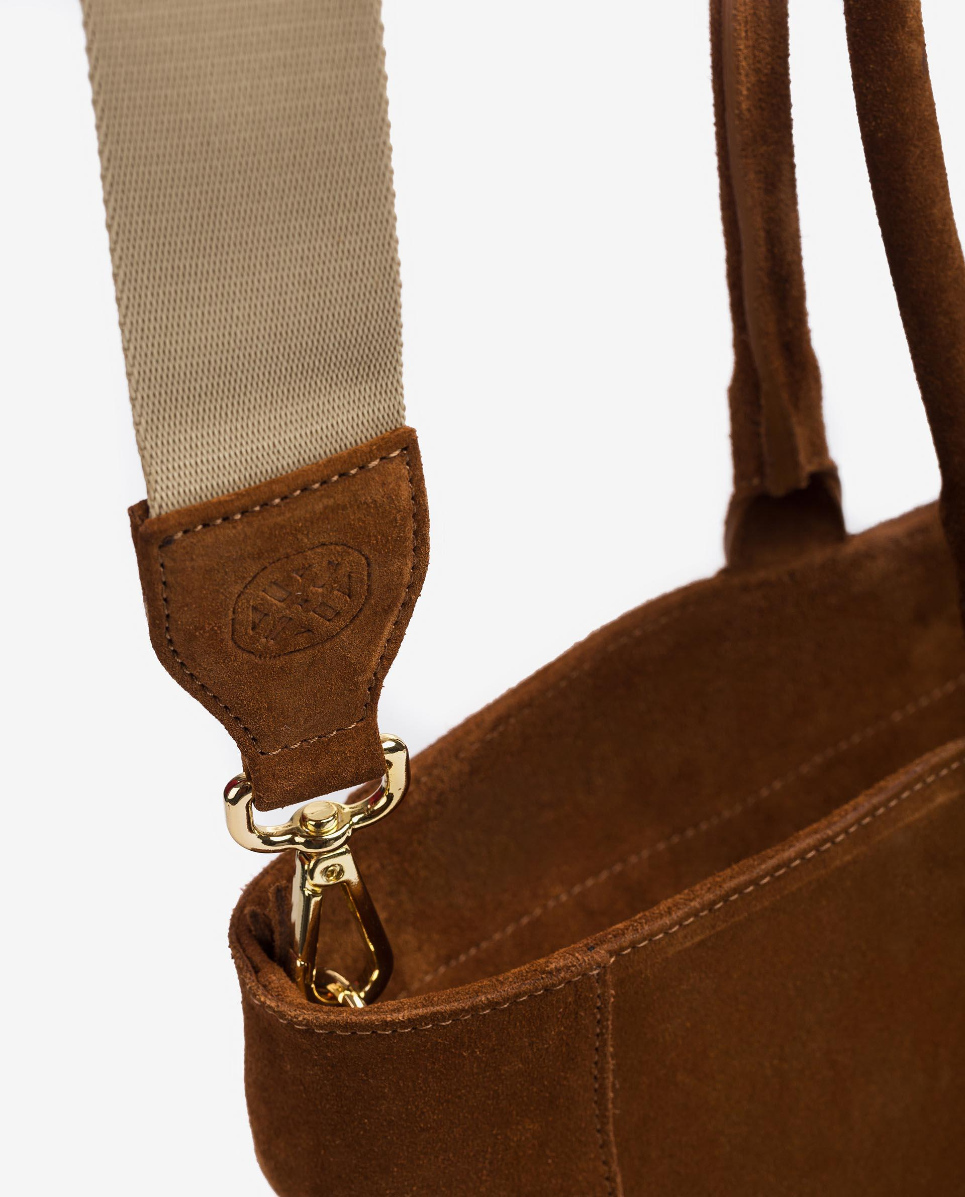 UNISA Mittelgroße Wildledertasche ZNIOBE_BS 5
