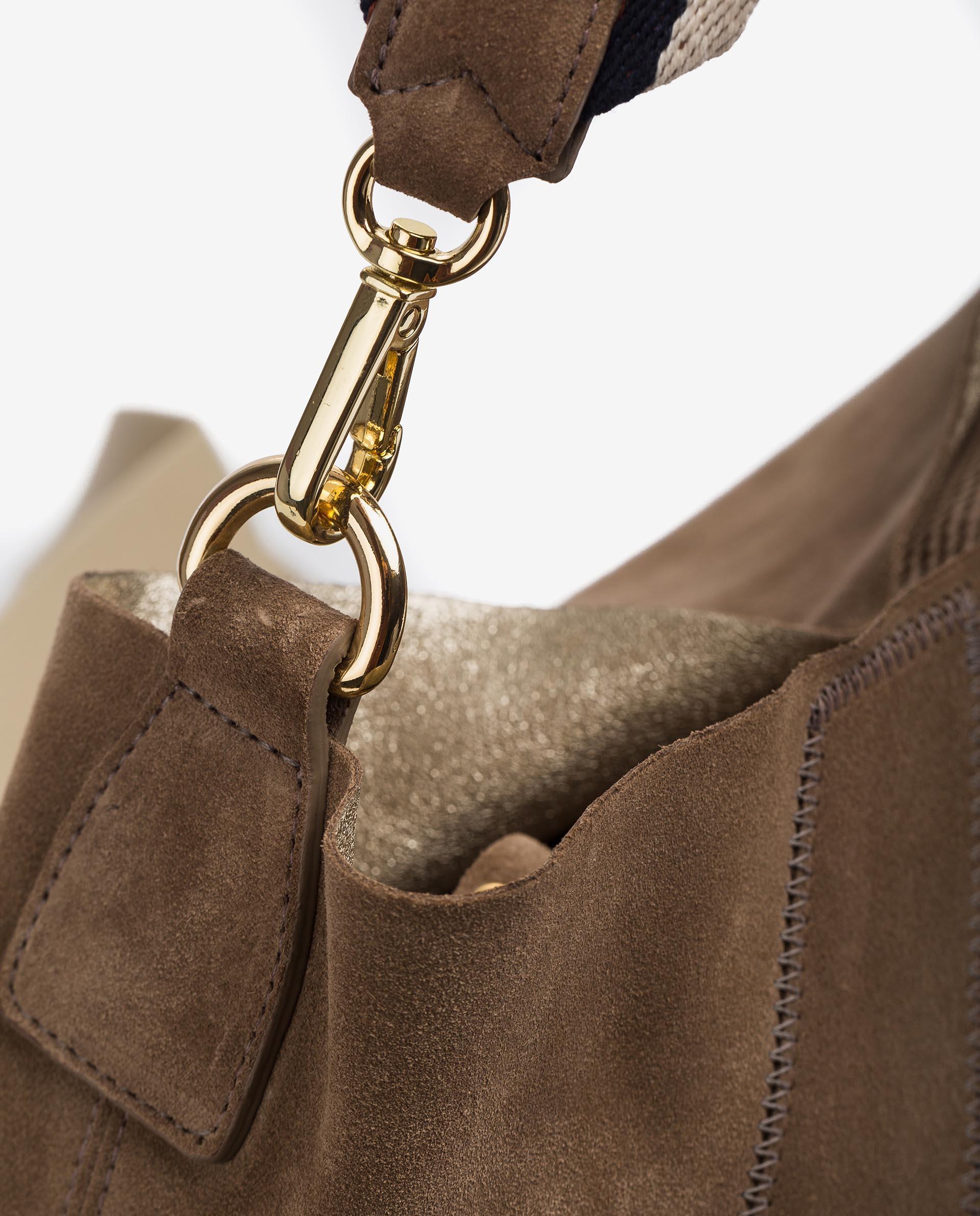 UNISA Shopper aus Wildleder ZUNI_BM_BS 5