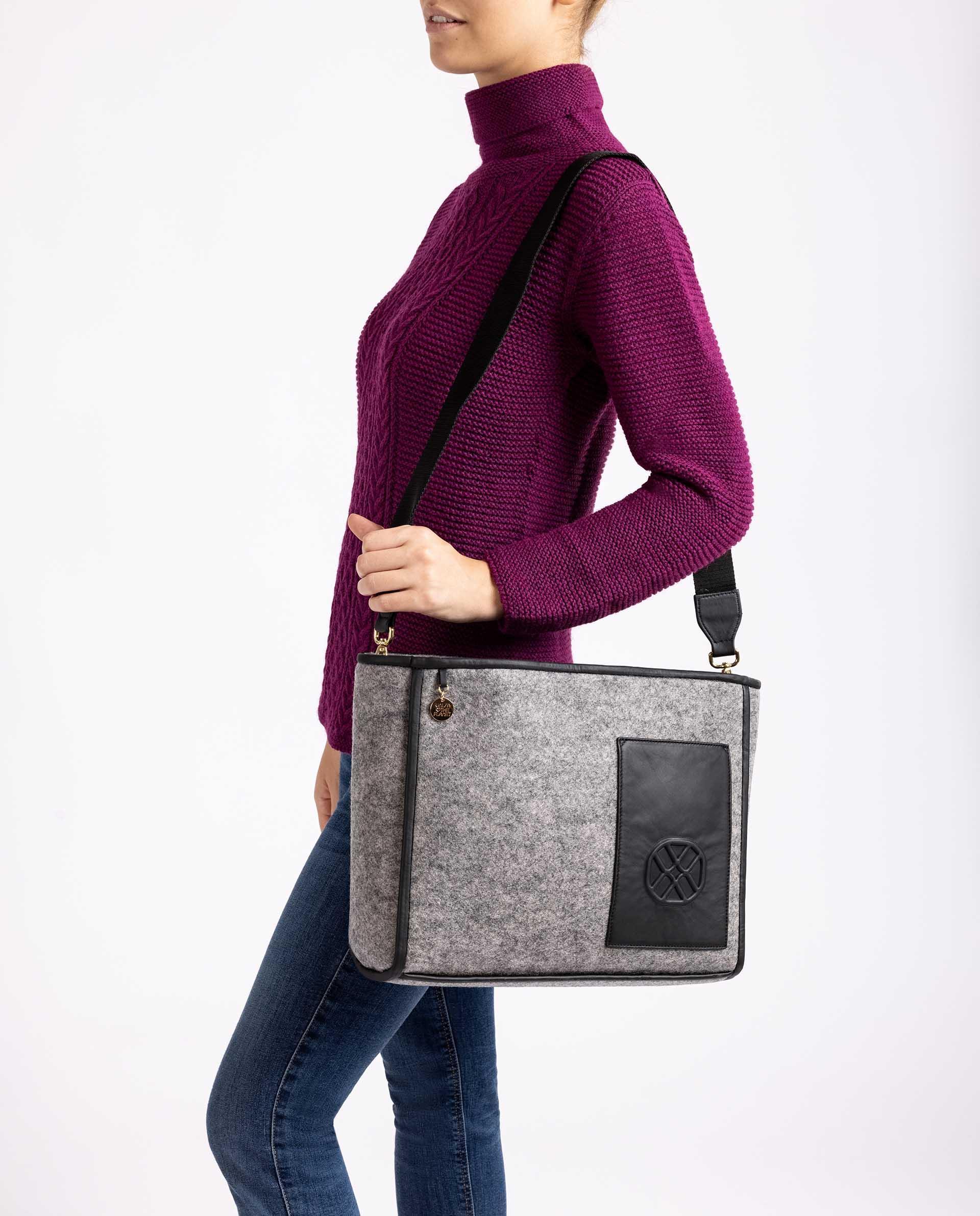 Unisa Große Handtaschen ZPIA_EW grigio