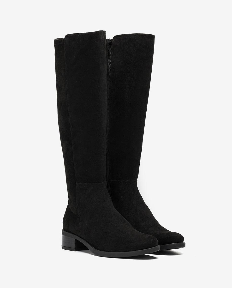 UNISA Elastische Stiefel ELIZA_F20_ST black 5