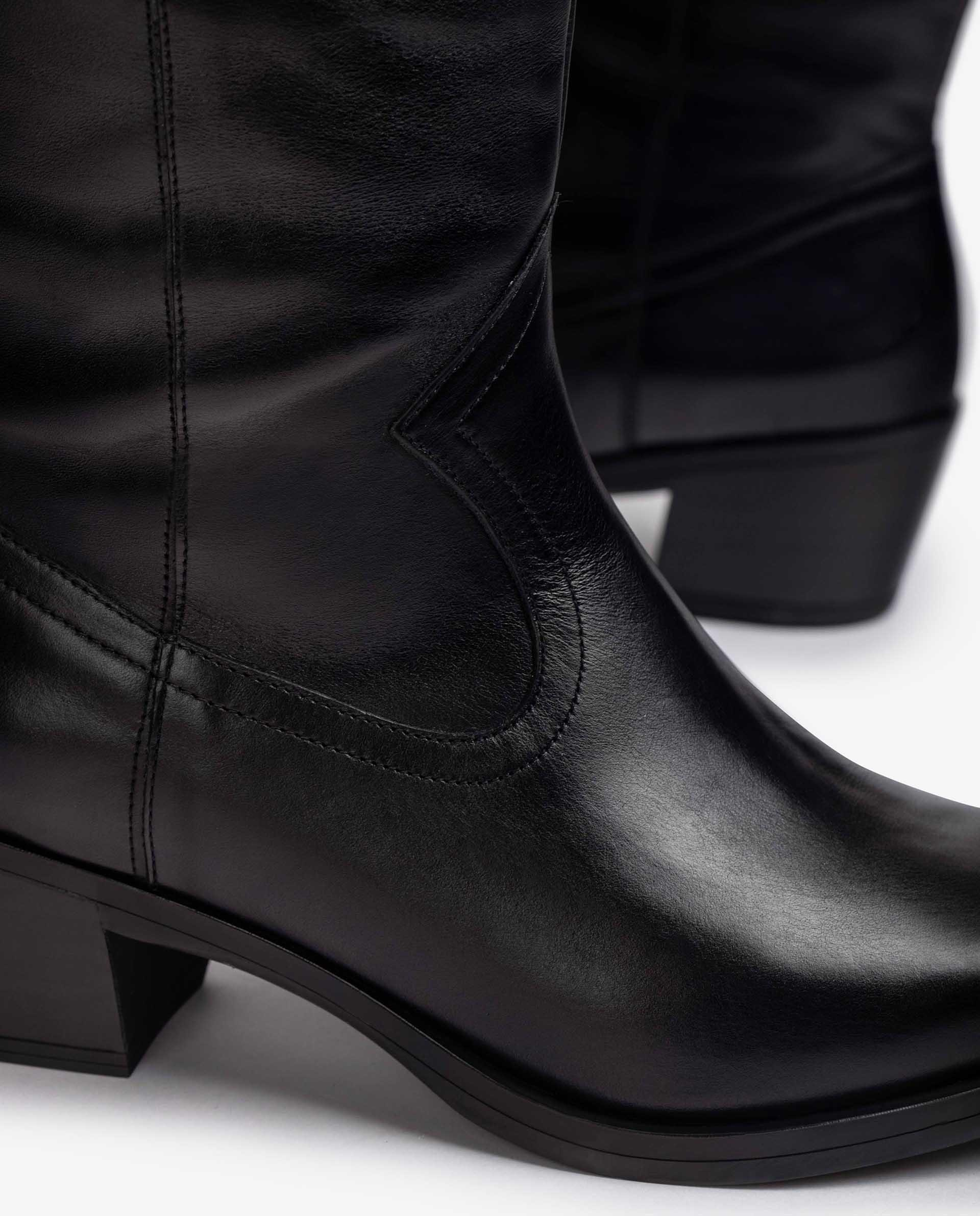 Unisa Stiefel GLADIS_F21_SCO black