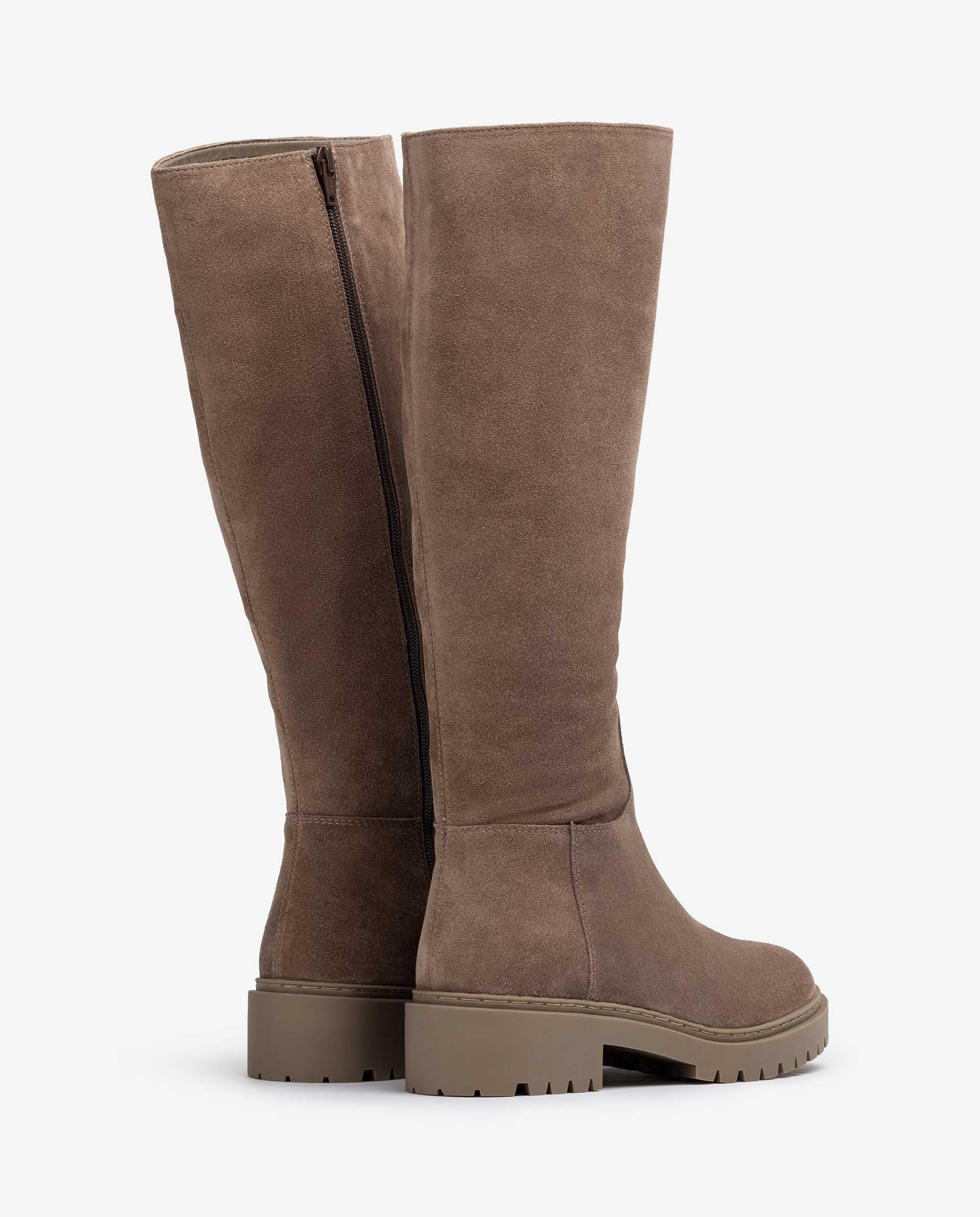 Unisa Stiefel GRACIA_BS taupe