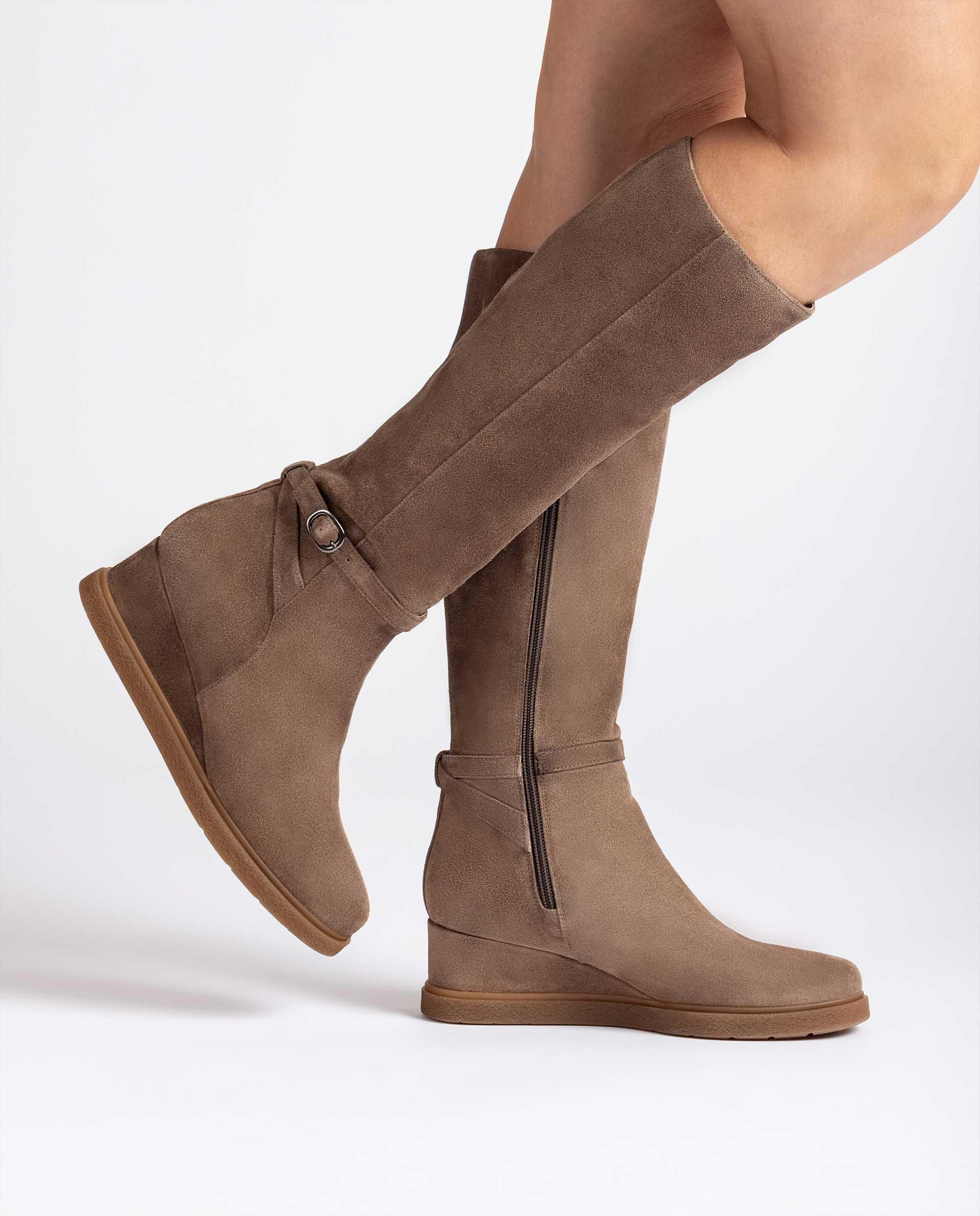 Unisa Stiefel JEYON_BS taupe