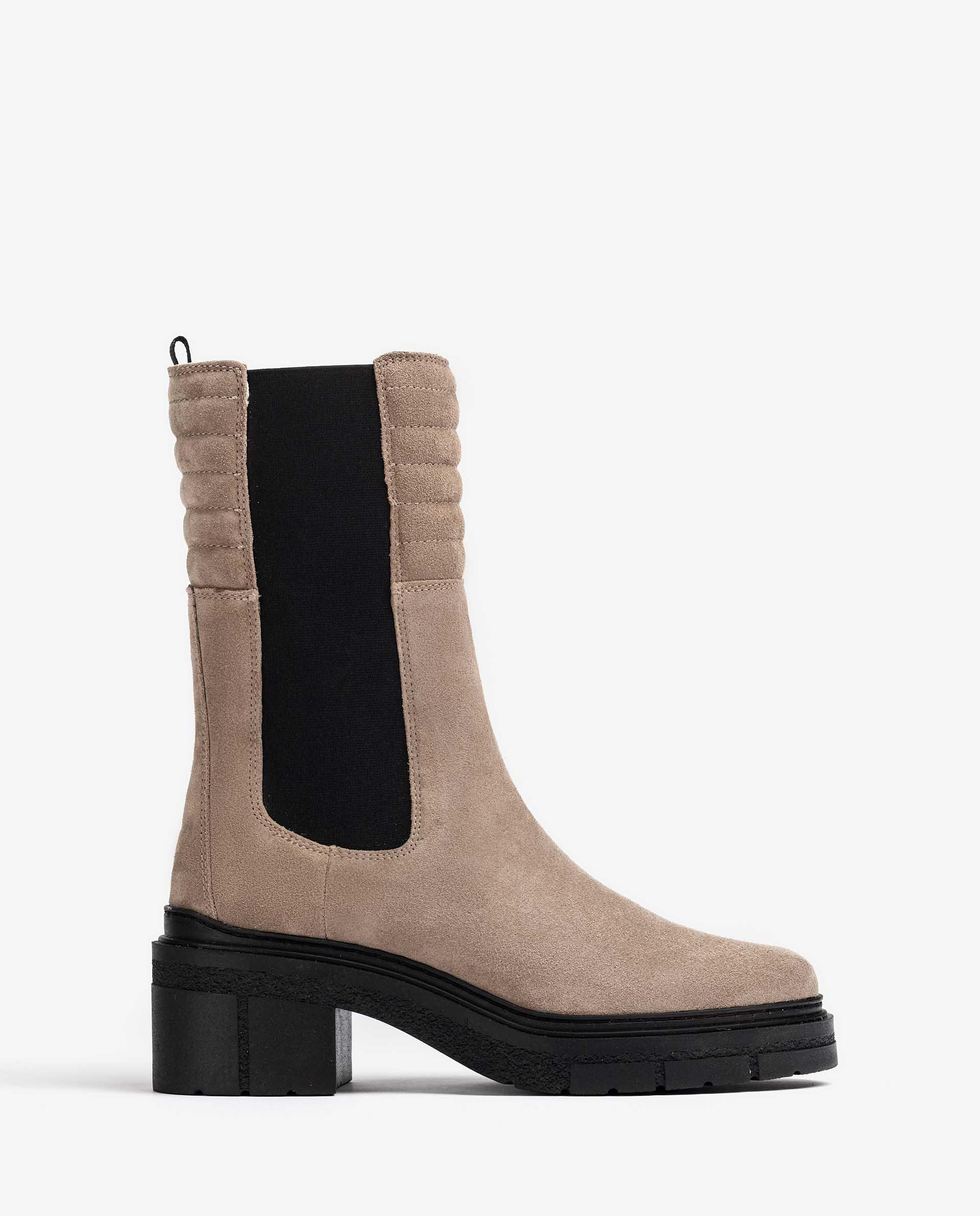Unisa Stiefel JINA_F21_BS taupe