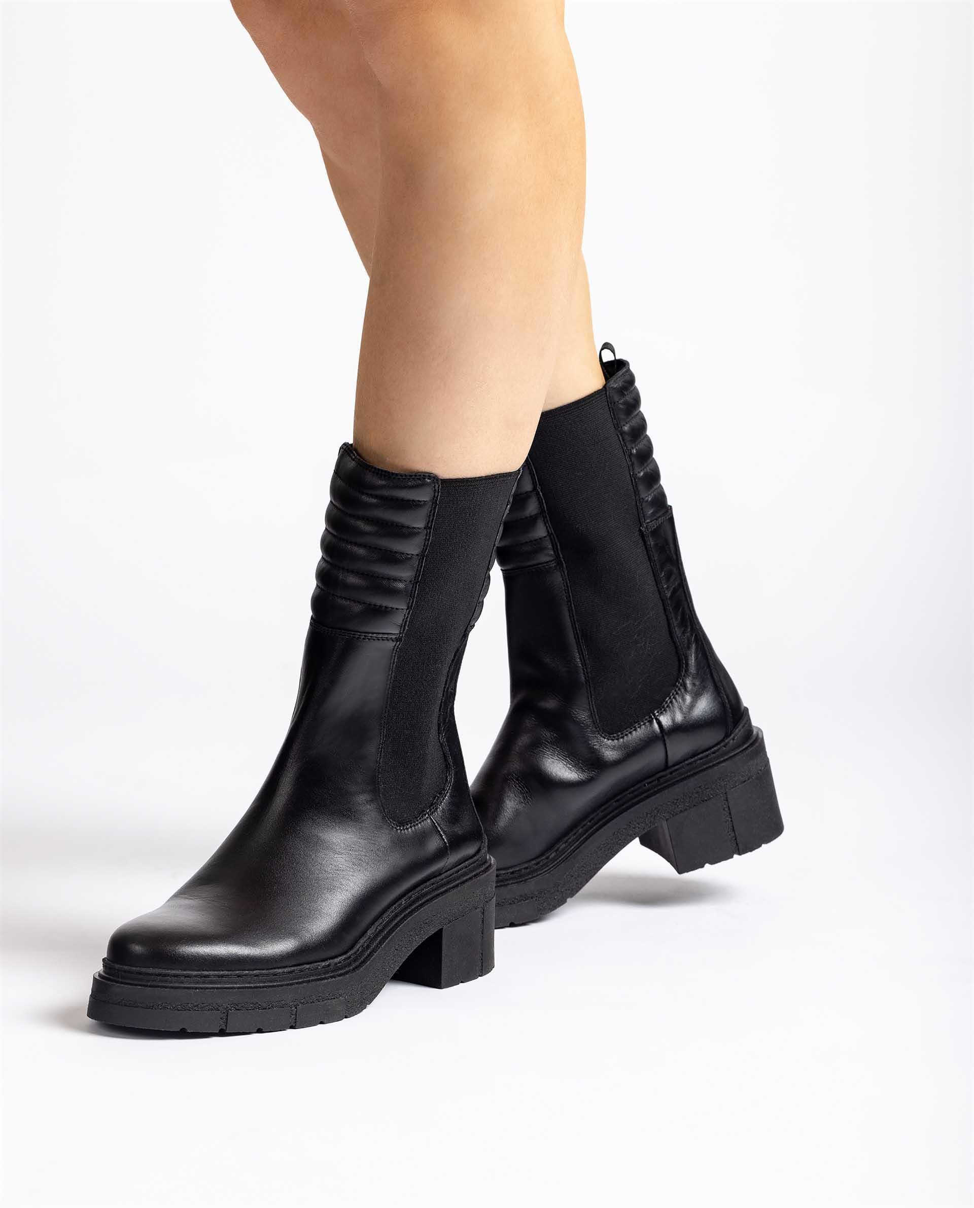 UNISA Hohe Chelsea-Boots JINA_F21_NF 5