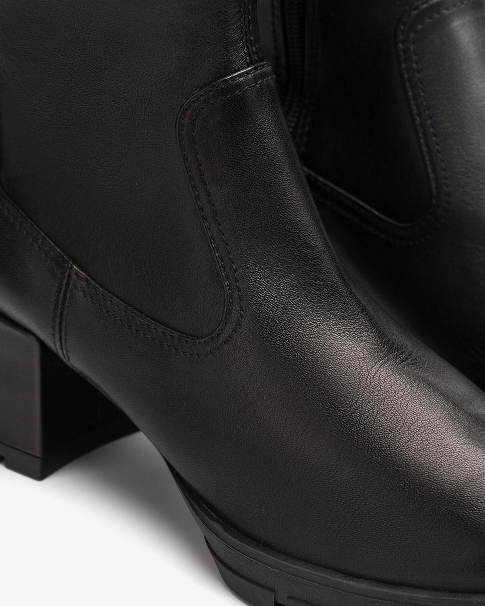 UNISA Schwarze elastische Stiefel JOSAN_VU_STN black 5