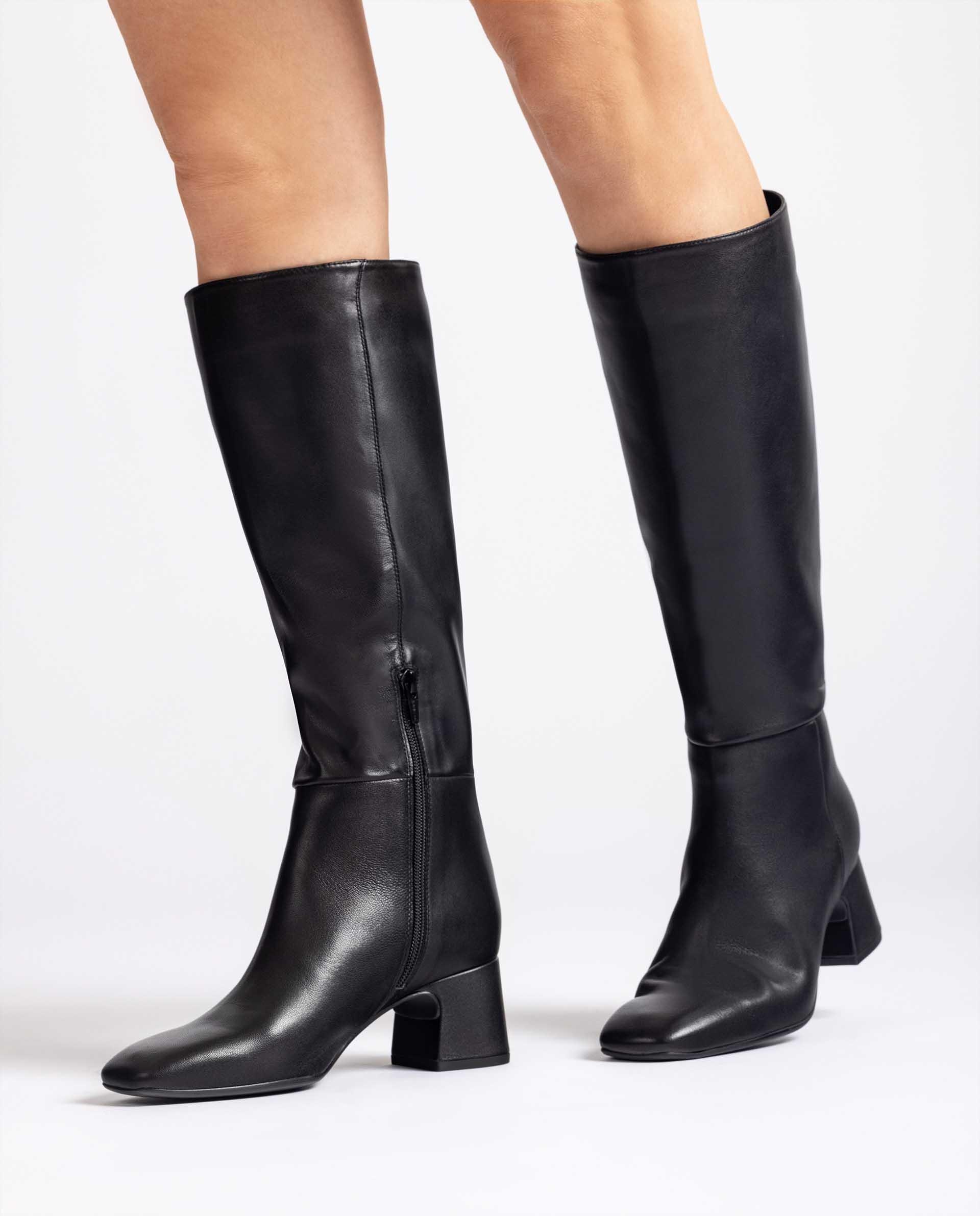Unisa Stiefel MIEDE_F21_VU black