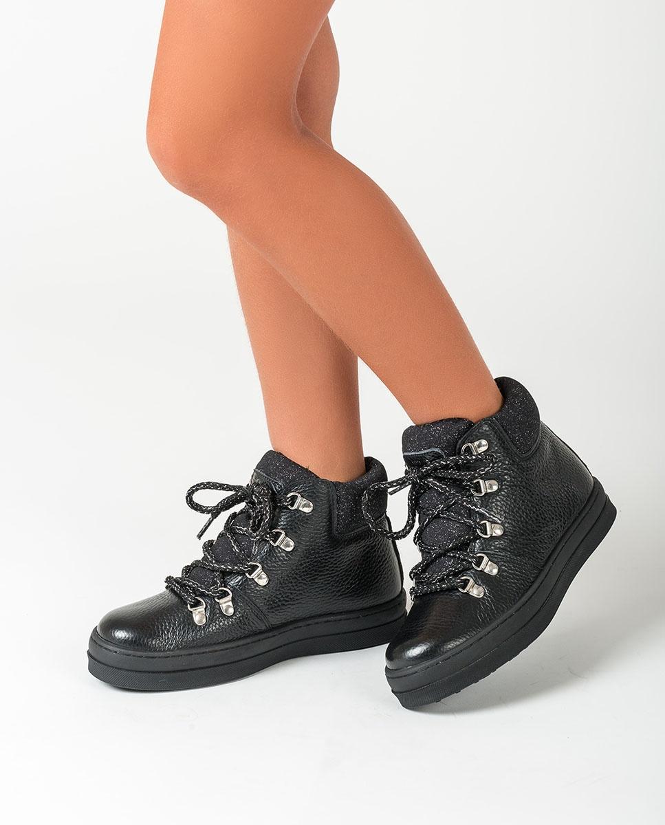 UNISA Schwarze Wander Stiefel ALISE_F20_MM black 5