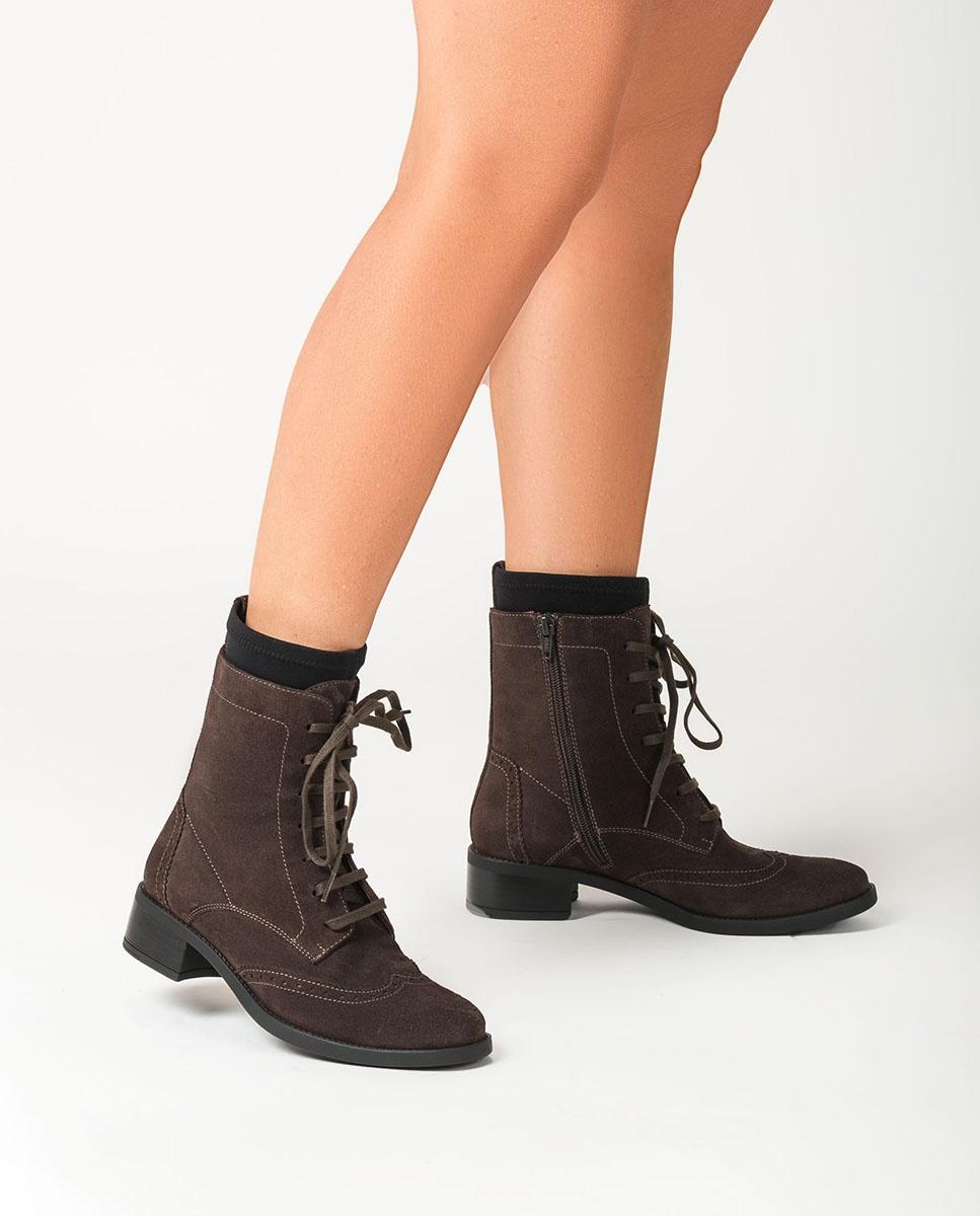 UNISA Geschnürte Sock-Boots ELMER_BS rhino 5