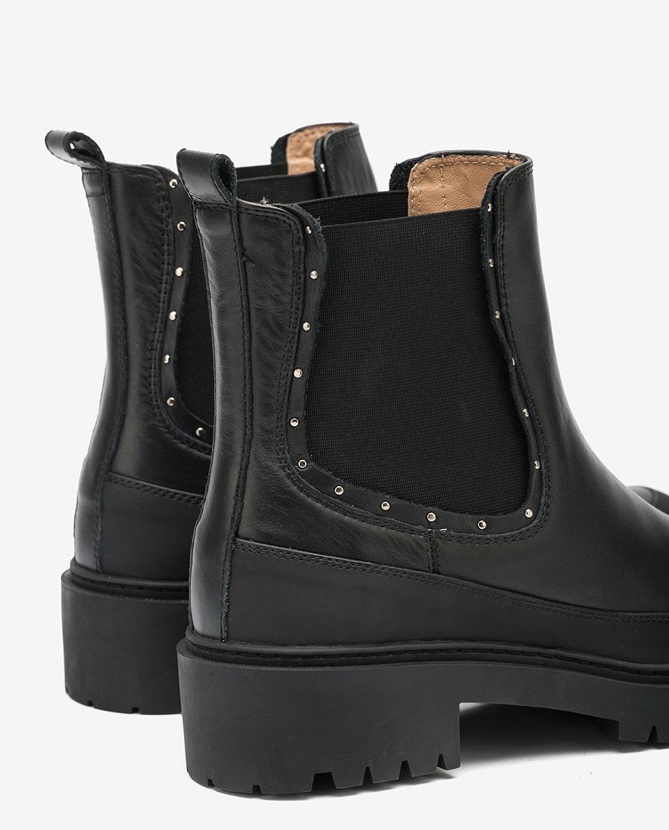 UNISA Chelsea-Boots mit Nieten GIL_NF black 5