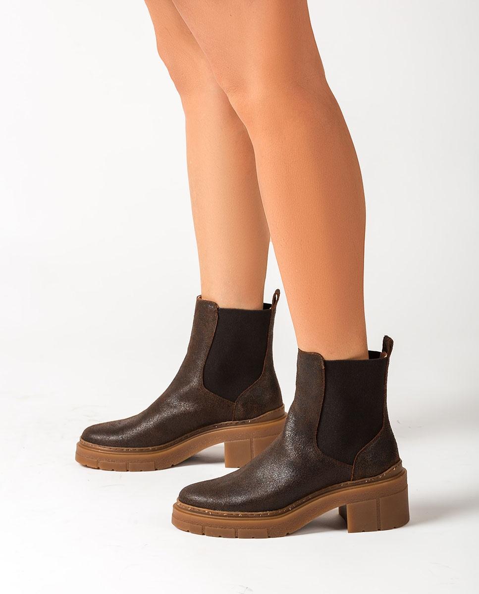 UNISA Chelsea-Boots mit Trekkingsohle JIMENEZ_AV fondant 5