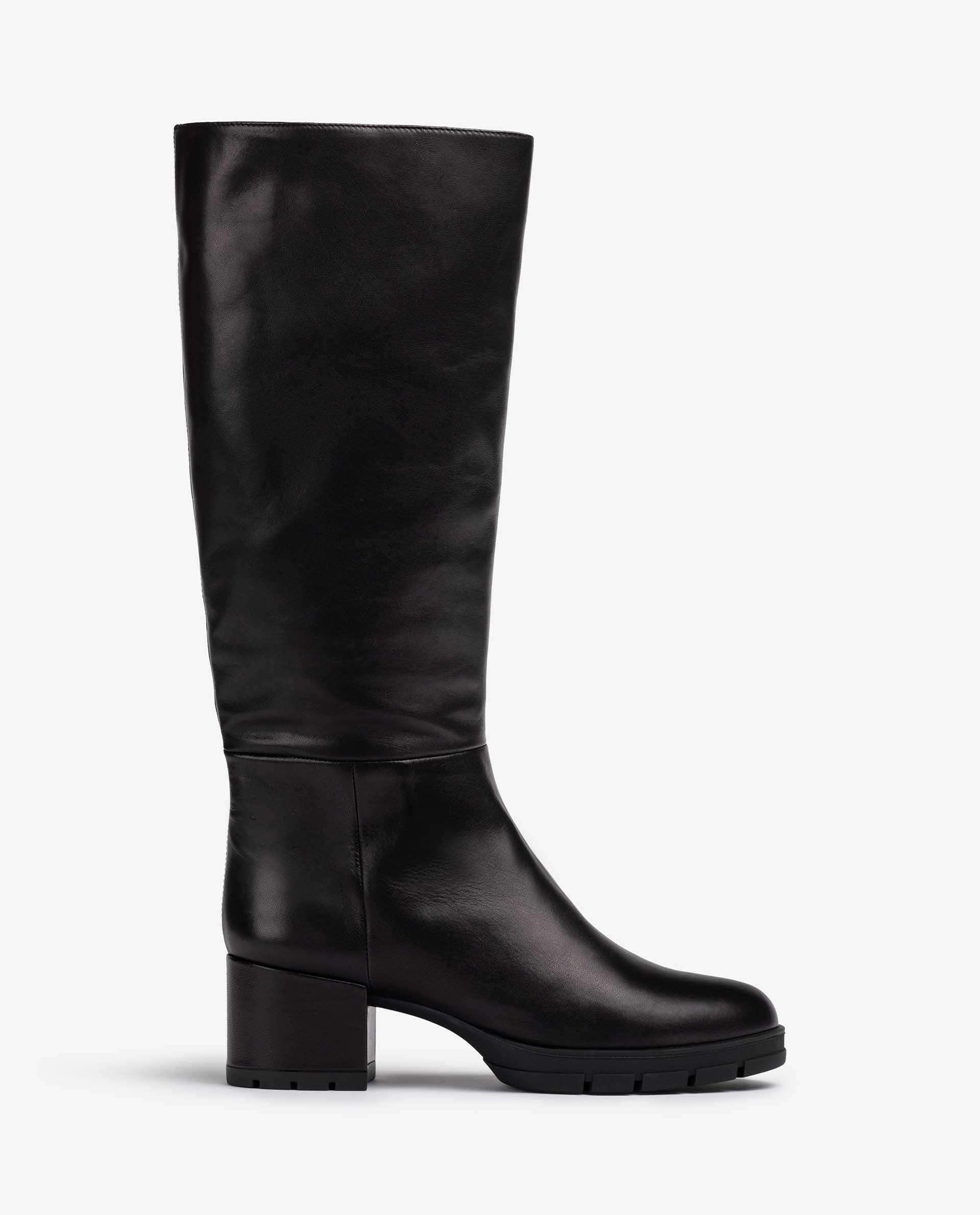 UNISA Hohe Stiefel mit Reißverschluss innen JOPER_VU 5
