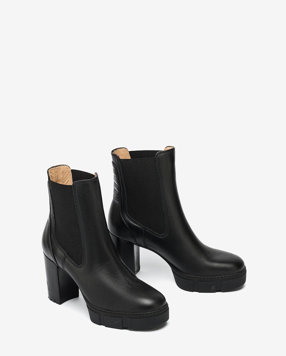 UNISA Chelsea-Boots mit Absatz KUBEL_NF black 5