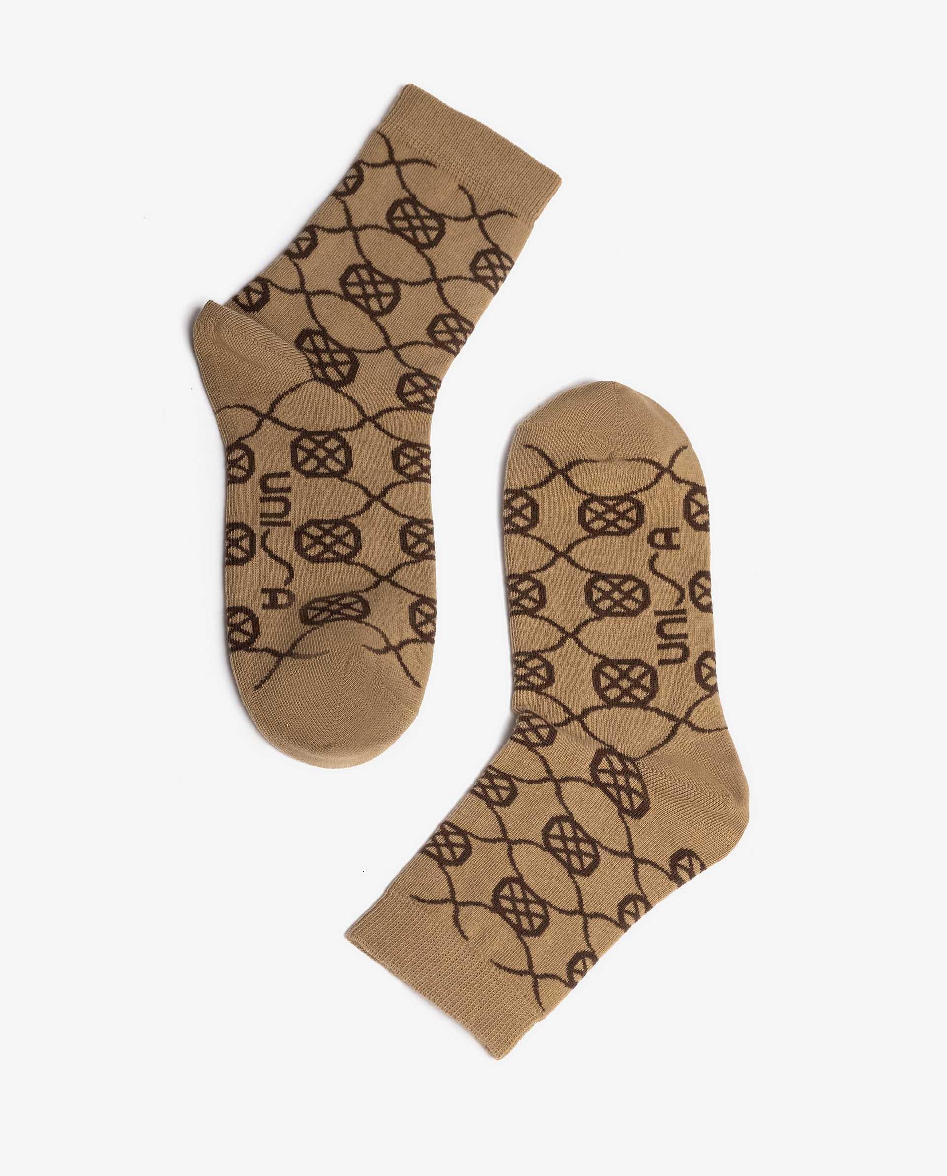 Unisa Socken R_CALCETIN beige