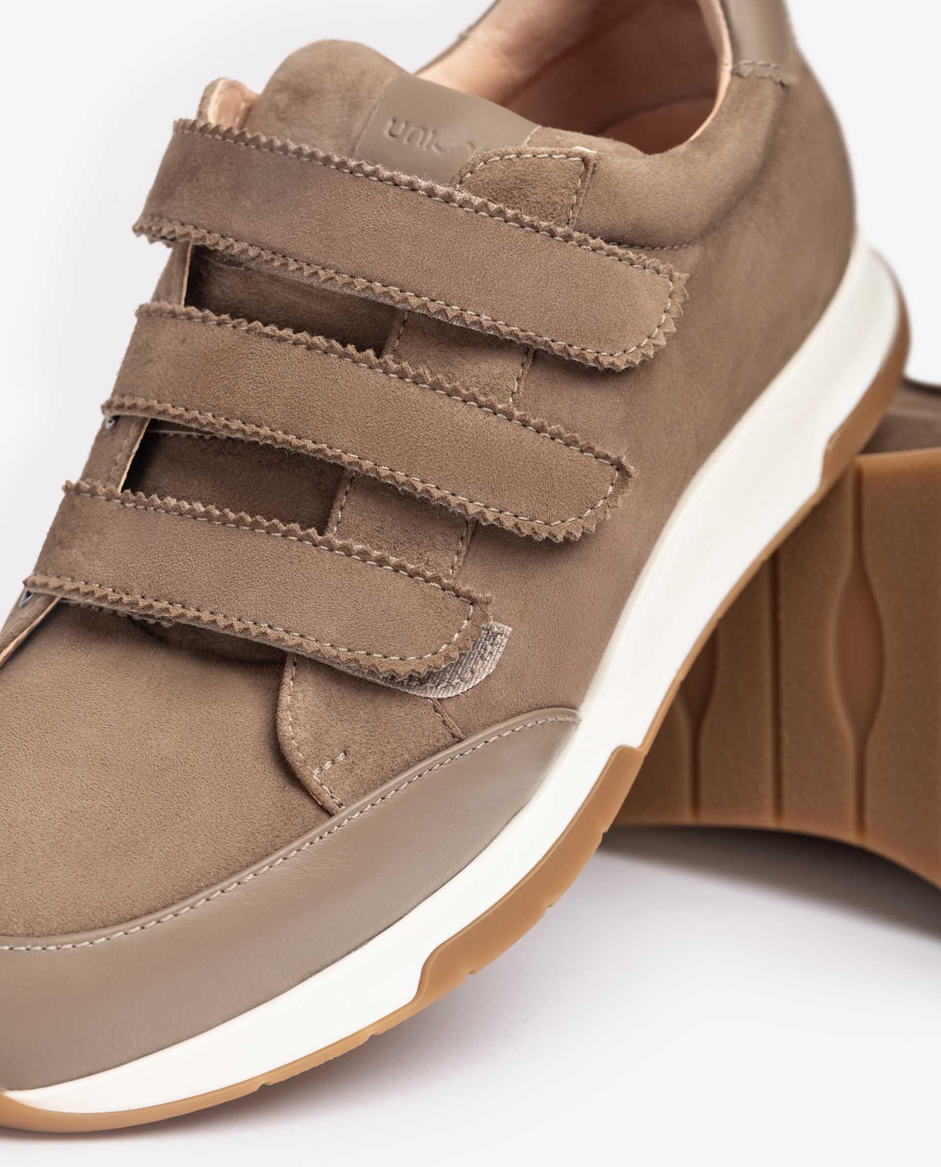 UNISA Wildleder-Sneaker mit Klettverschluss FALCER_KS 5