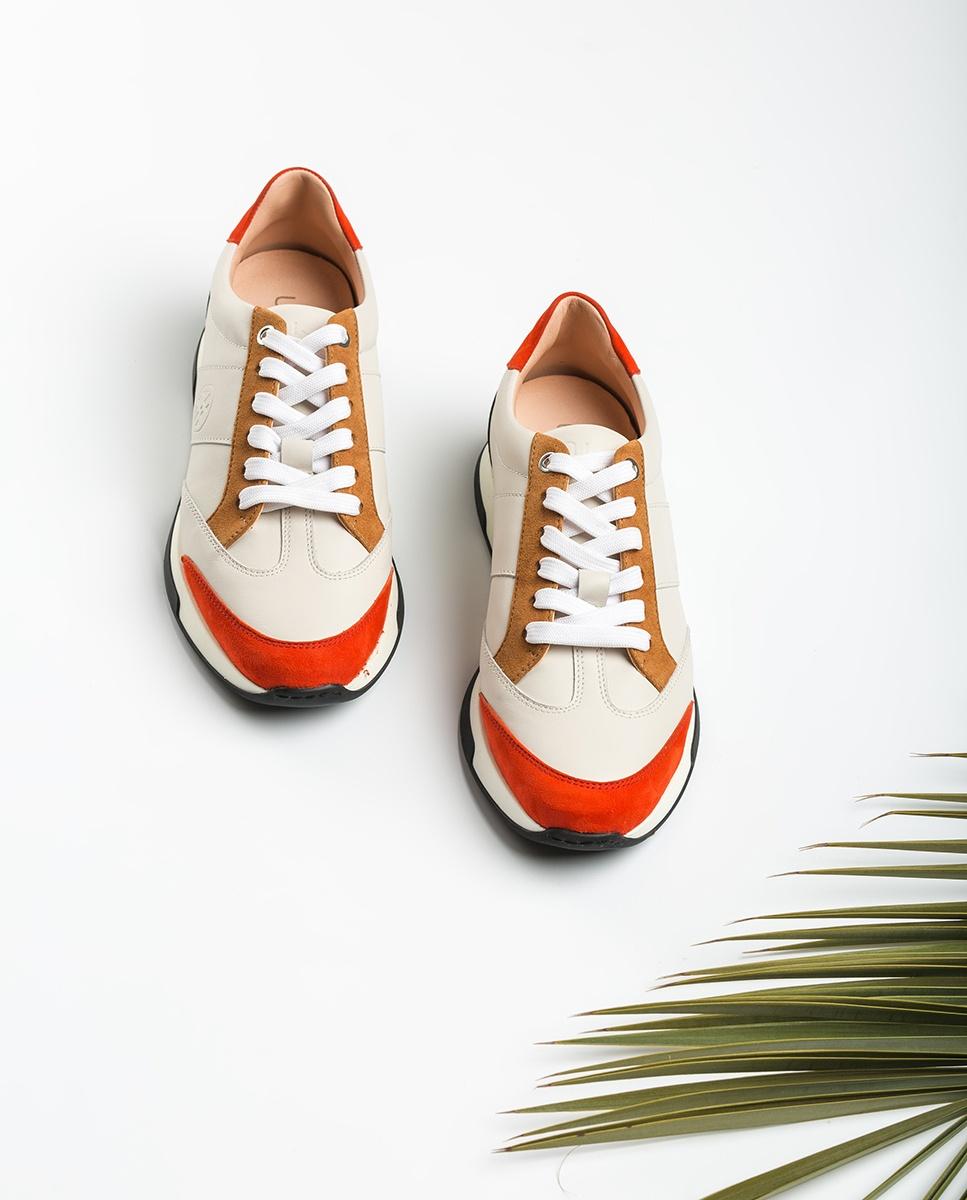 UNISA Kontrastreiche Sneaker mit Monogramm FALCONI_NF_KS ivo/cor/ci 5
