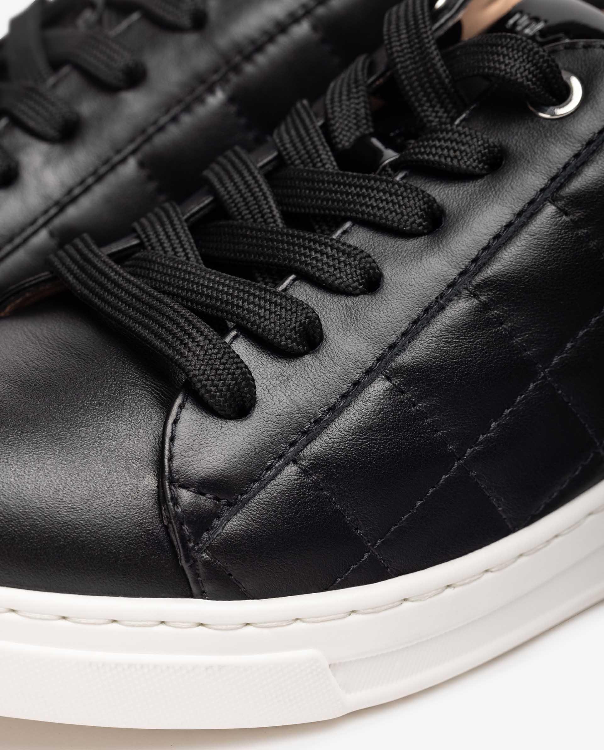 UNISA Sneaker aus gepolstertem Leder FALUA_NF 5