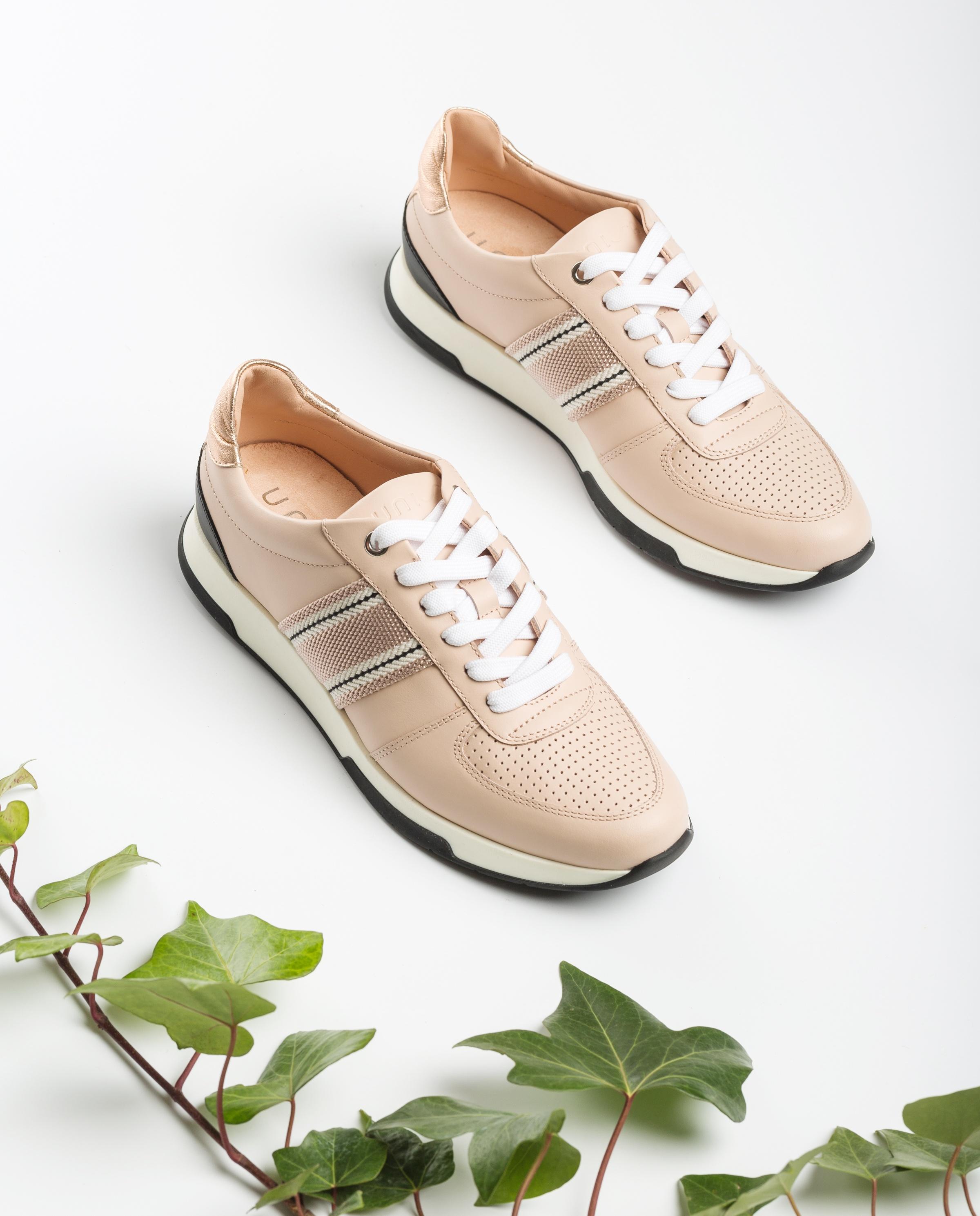 UNISA Sneaker mit Stoffeinsätzen FARIDA_NF pale/rosa 5