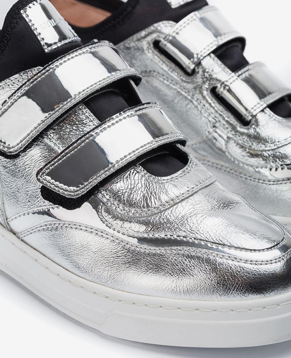 UNISA Silberfarbener Sneaker FEDISA_MER silver 5