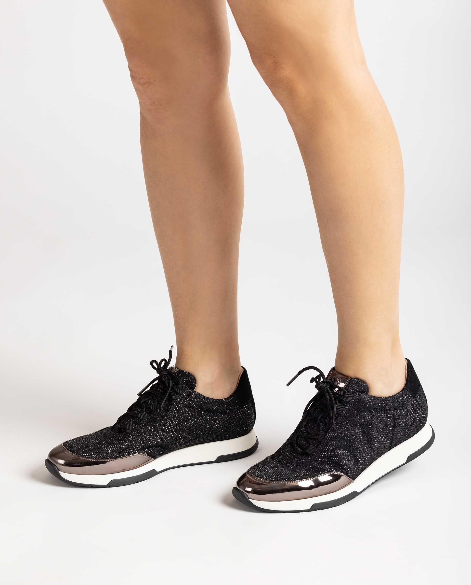 UNISA Sneaker aus glänzendem Gewebe FLAFA_EV 5