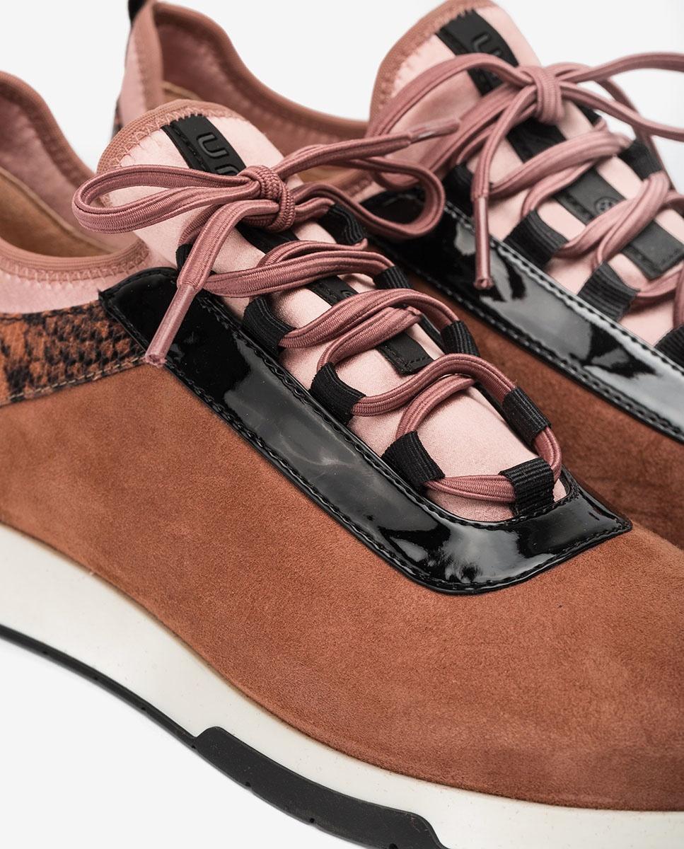 UNISA Rosa Sneaker mit Kontrasten FONTS_KS_VIP tiffany 5
