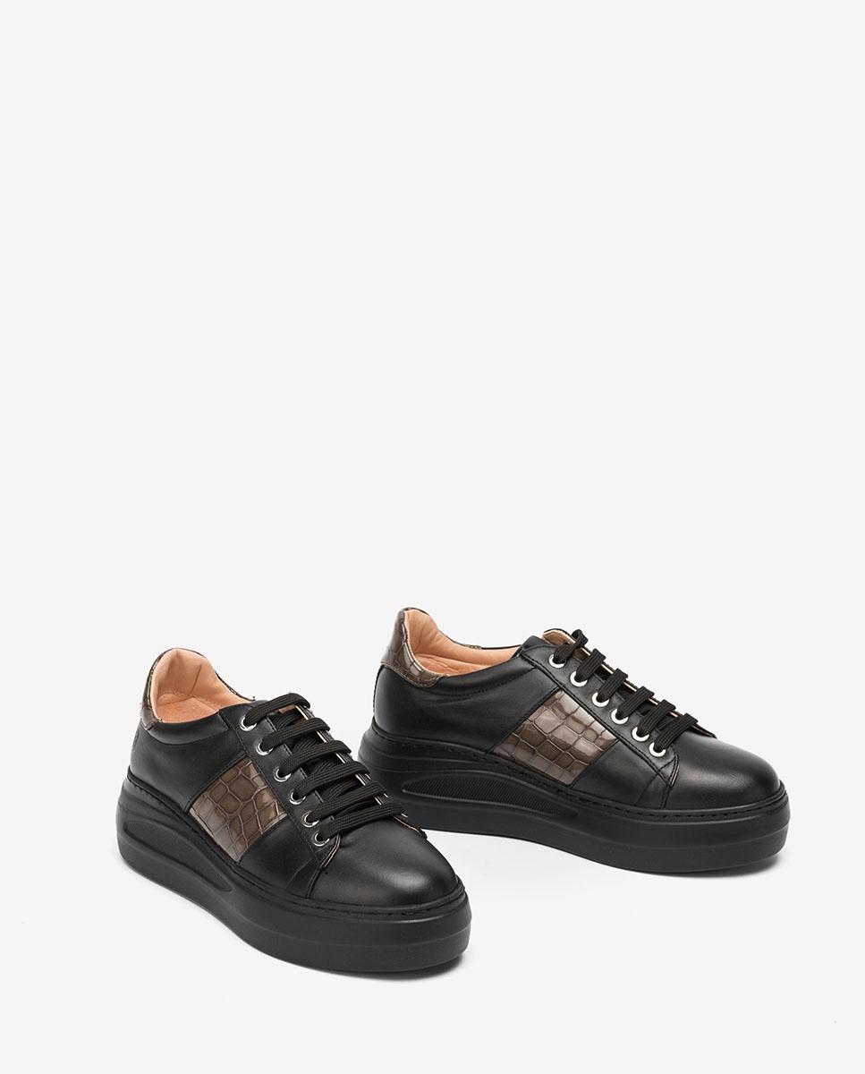 UNISA Sneaker mit kontrastierender Plateausohle FROISIN_NF_CSH 5