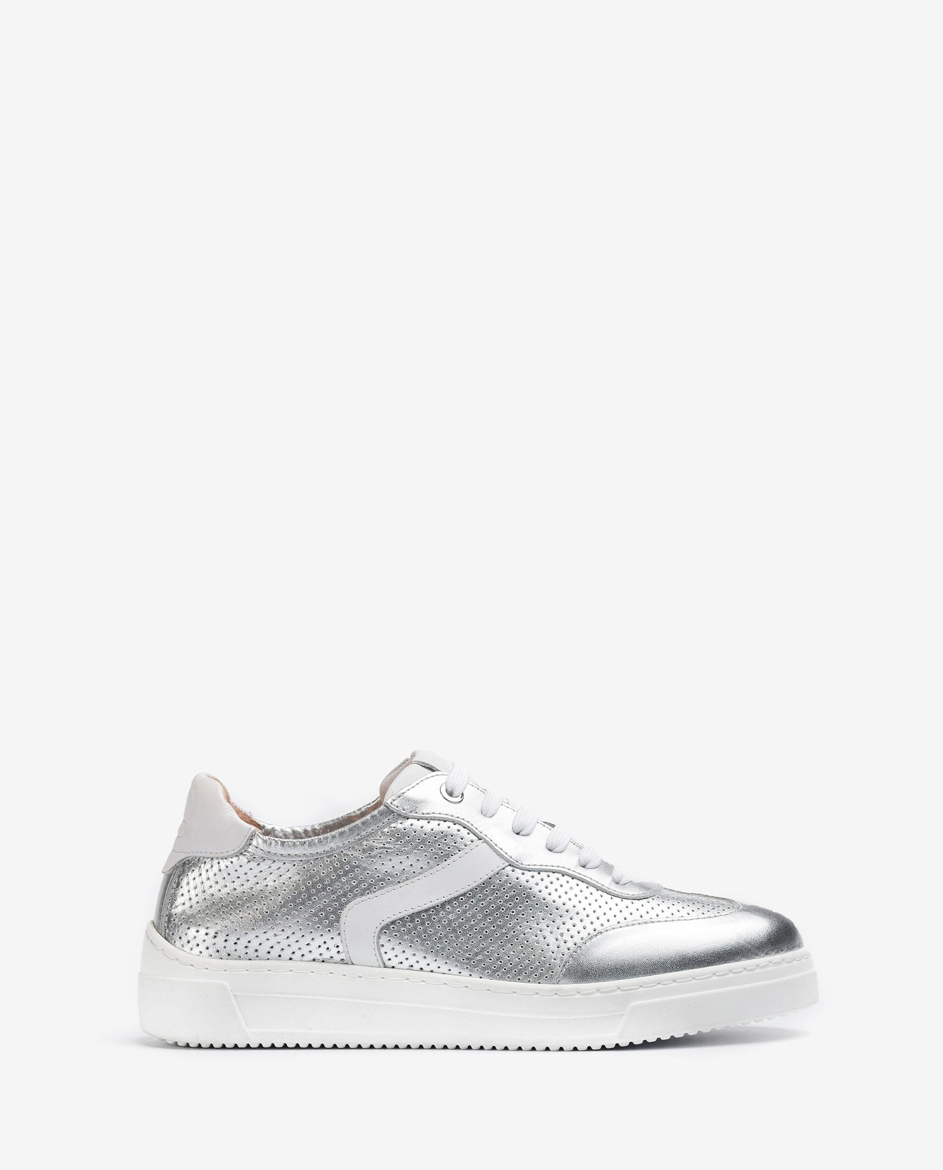 Unisa Sneakers FUAD_NF SILVER/WHI