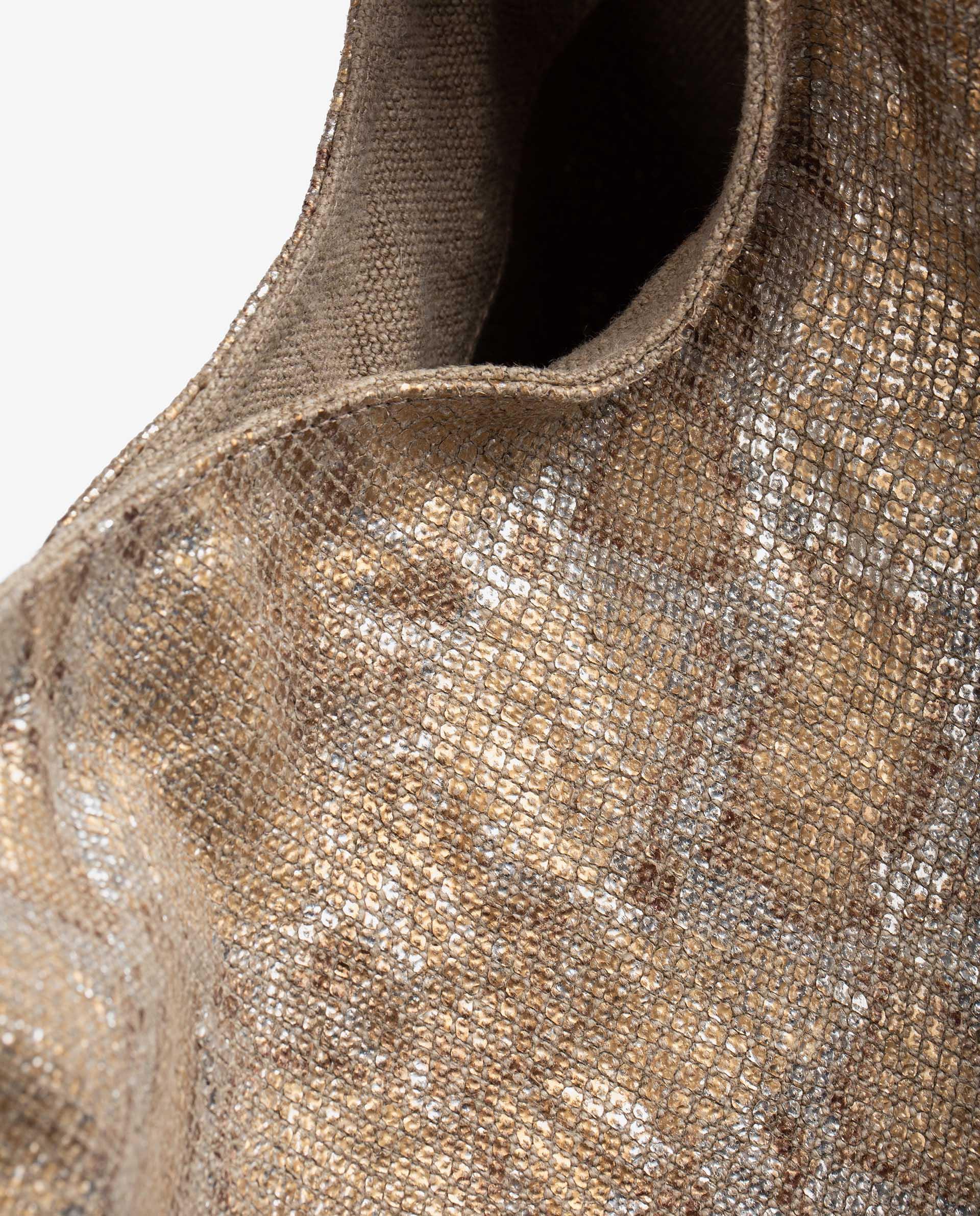 UNISA Hobo Bag aus Leinen ZISLOTE_21_VLI 5
