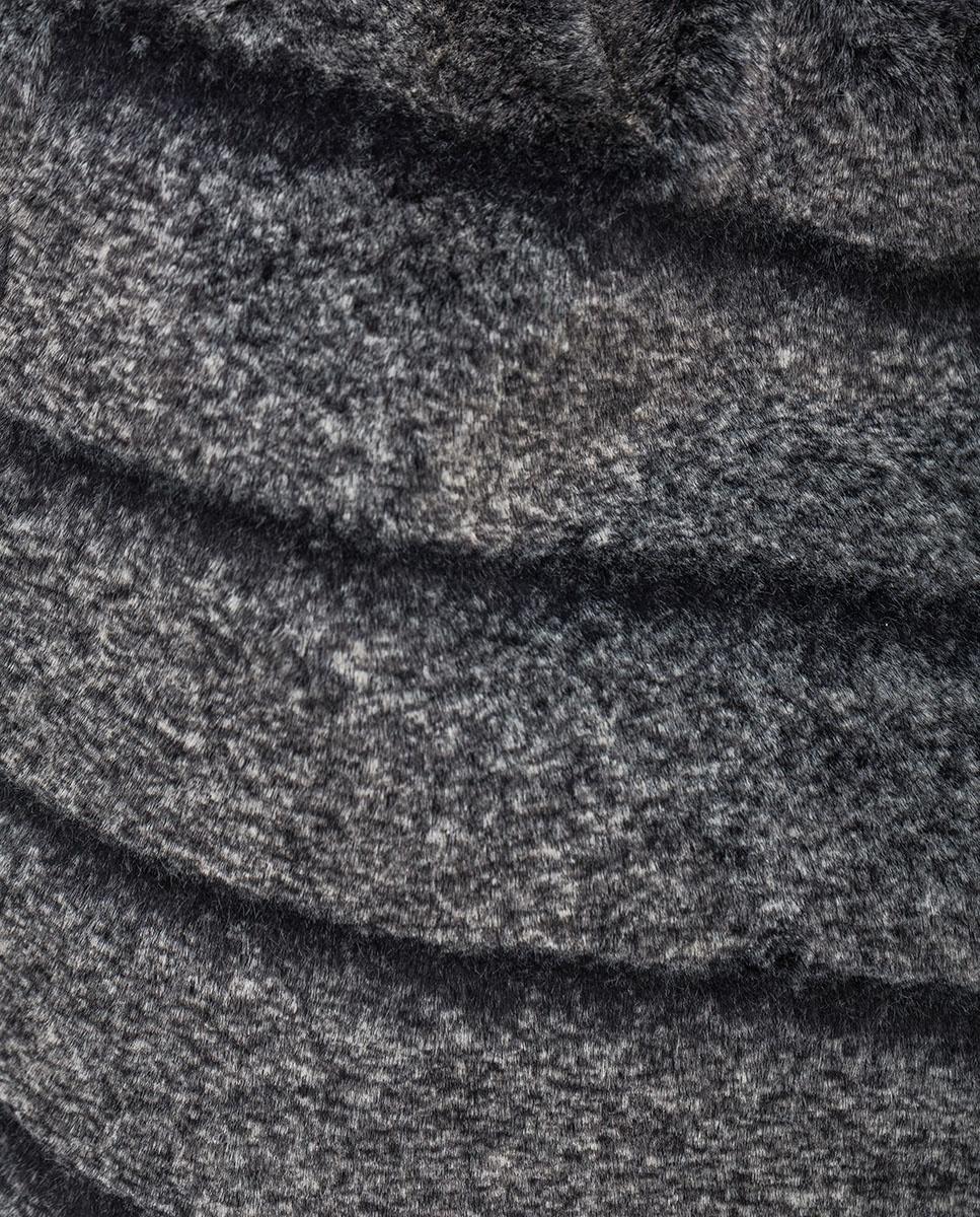 UNISA Tote-Bag aus Fake Fur ZISNOW_F20_BAI grigio 5