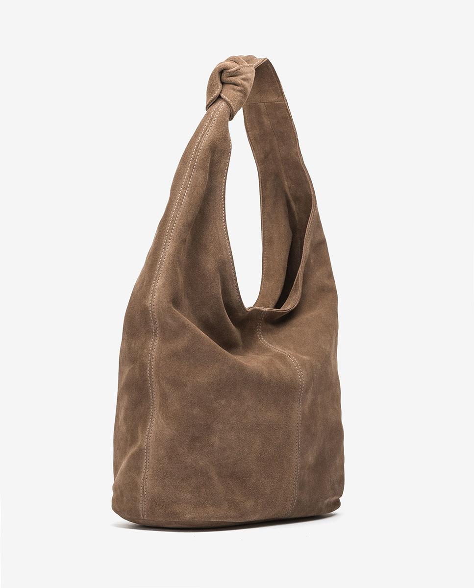 UNISA Shopper aus Wildleder ZITITI_BS taupe 5