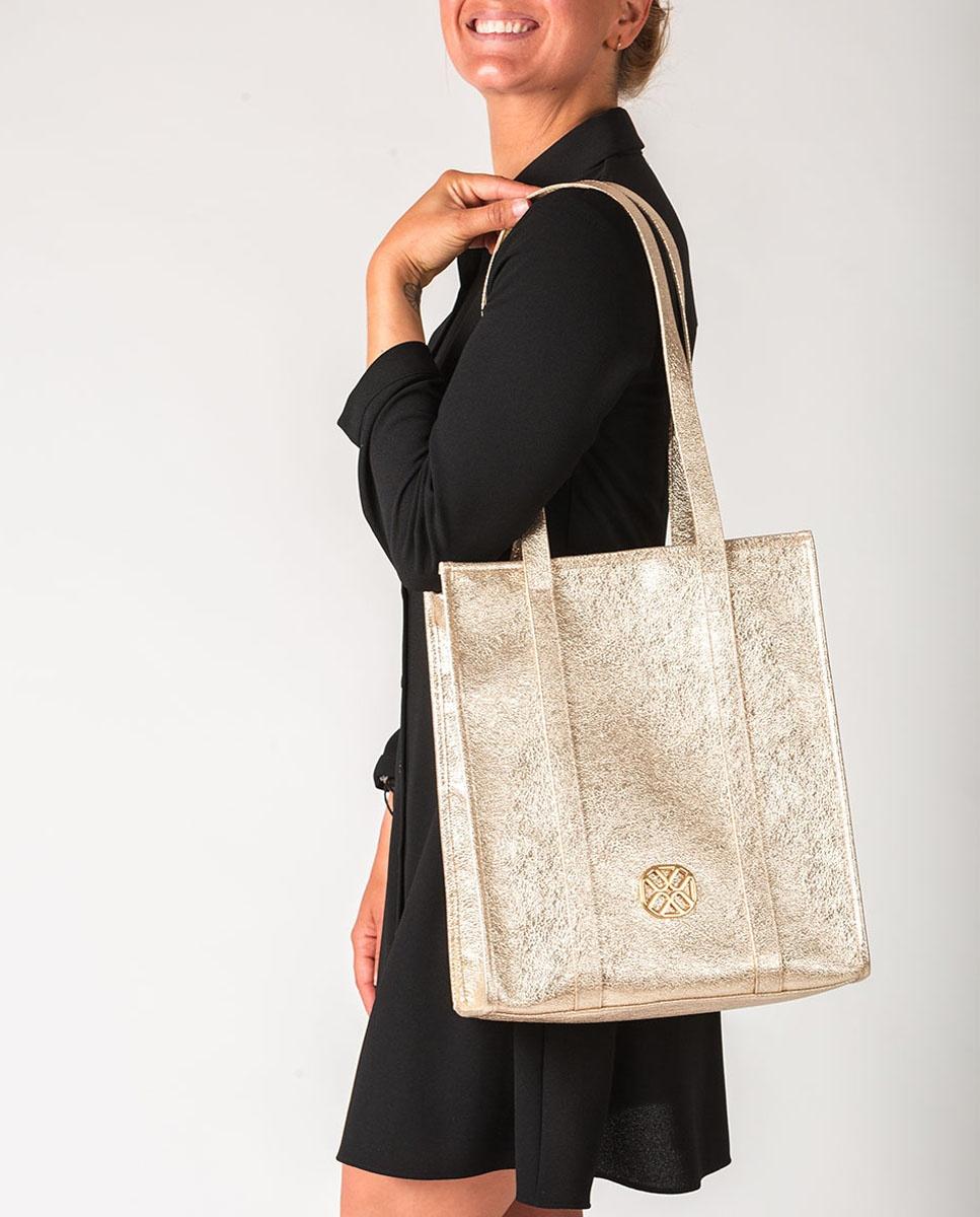 UNISA Shopper Tasche metallisiert ZTRUITA_LRE platino 5