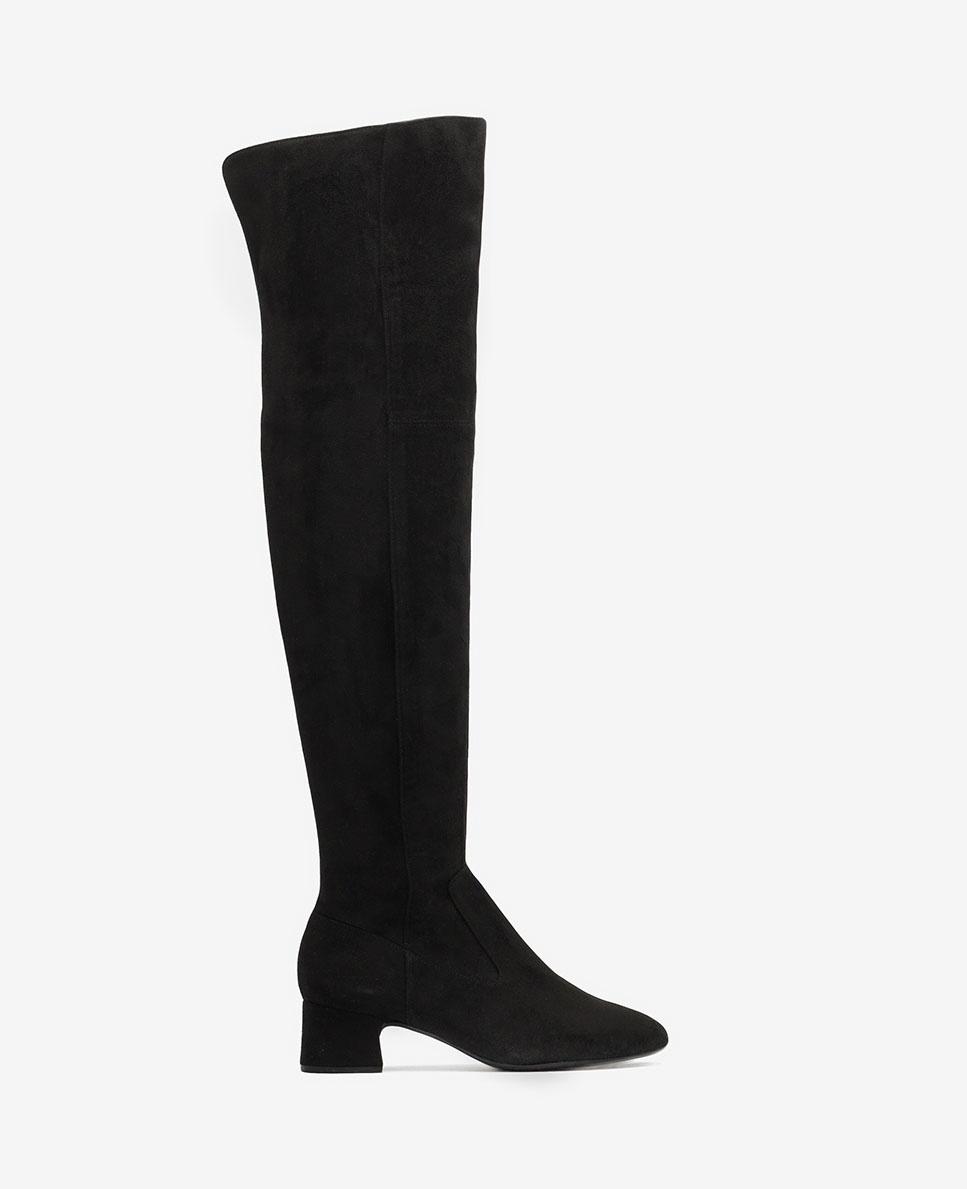 UNISA Elastische Musketier-Stiefel LUKAS_ST black 5