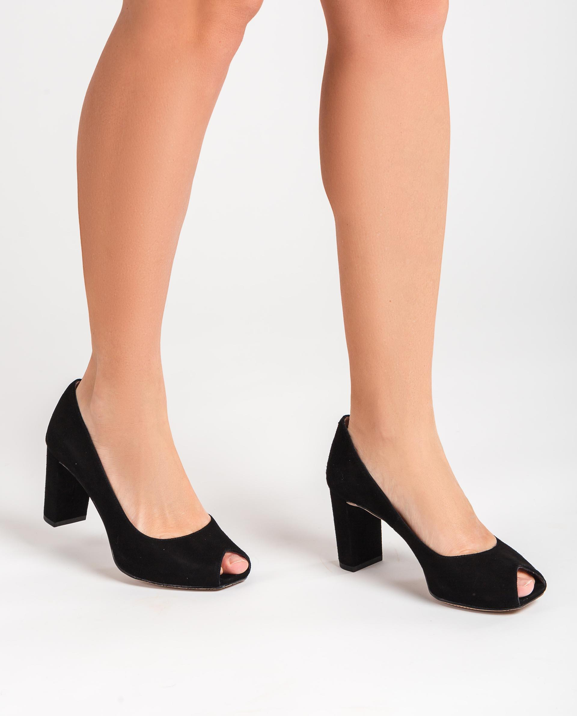 Unisa Peep Toe NAJIBE_KS black