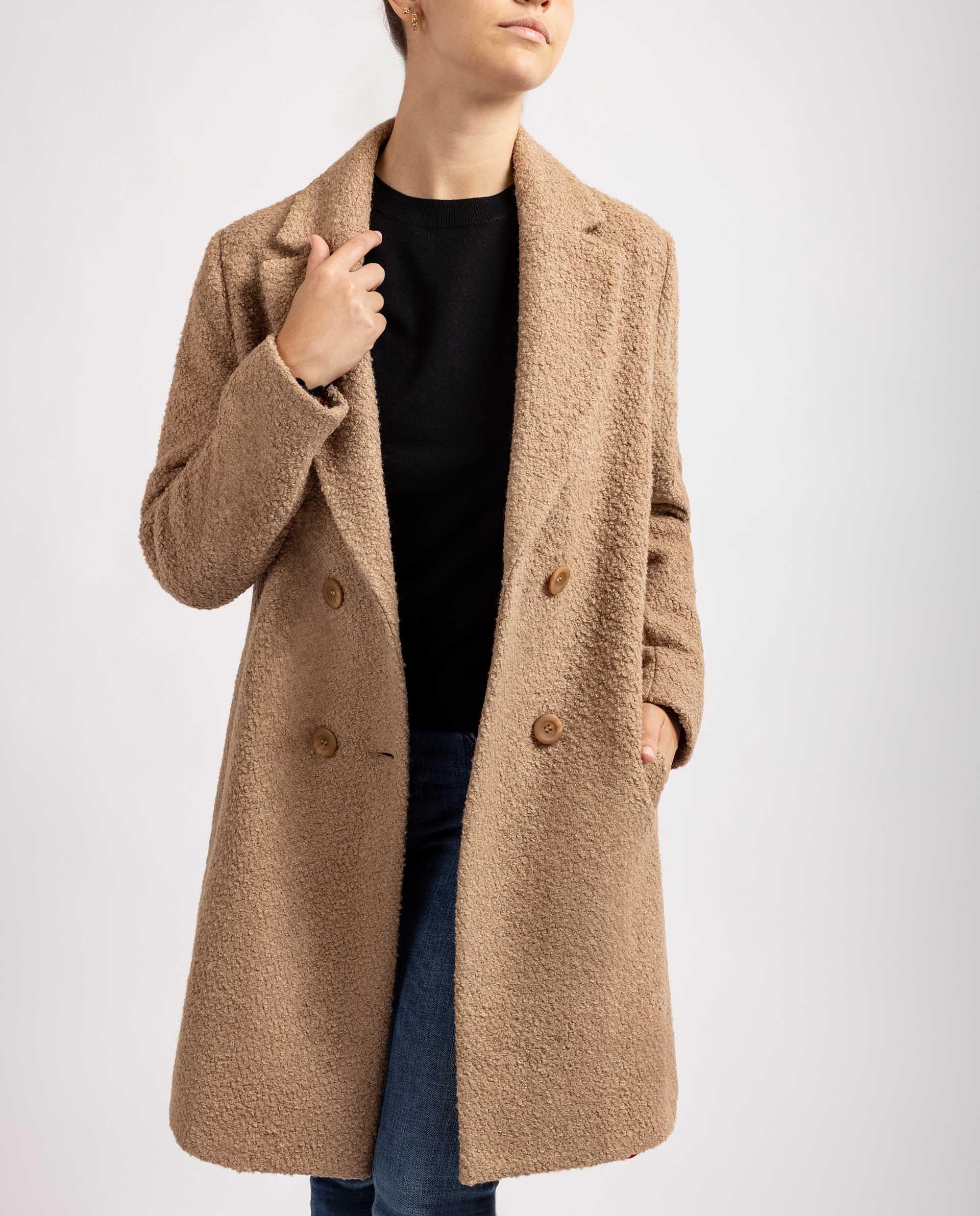 UNISA Oversize Mantel in  BeigeOversize Mantel in  Beige R_ARLOS 5