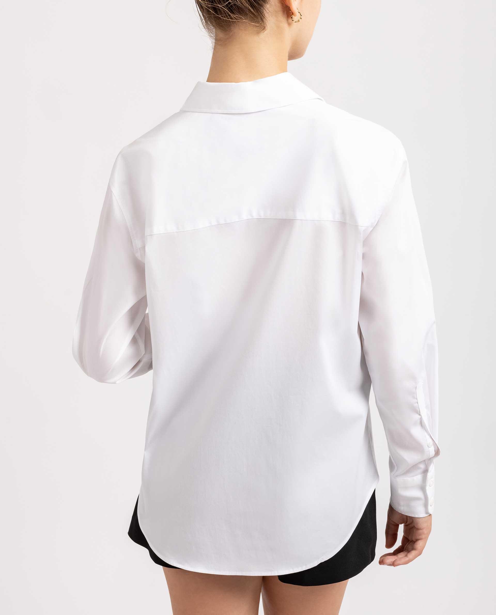 UNISA Weiße Oversize Bluse R_BALMONTE 5