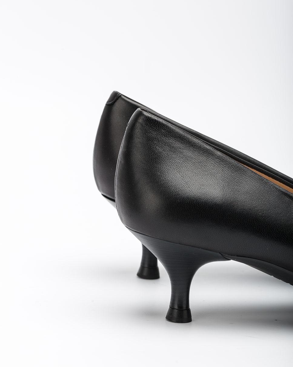 UNISA Schwarze Pumps mit Kitten-Heel JIRON_F20_NA black 5