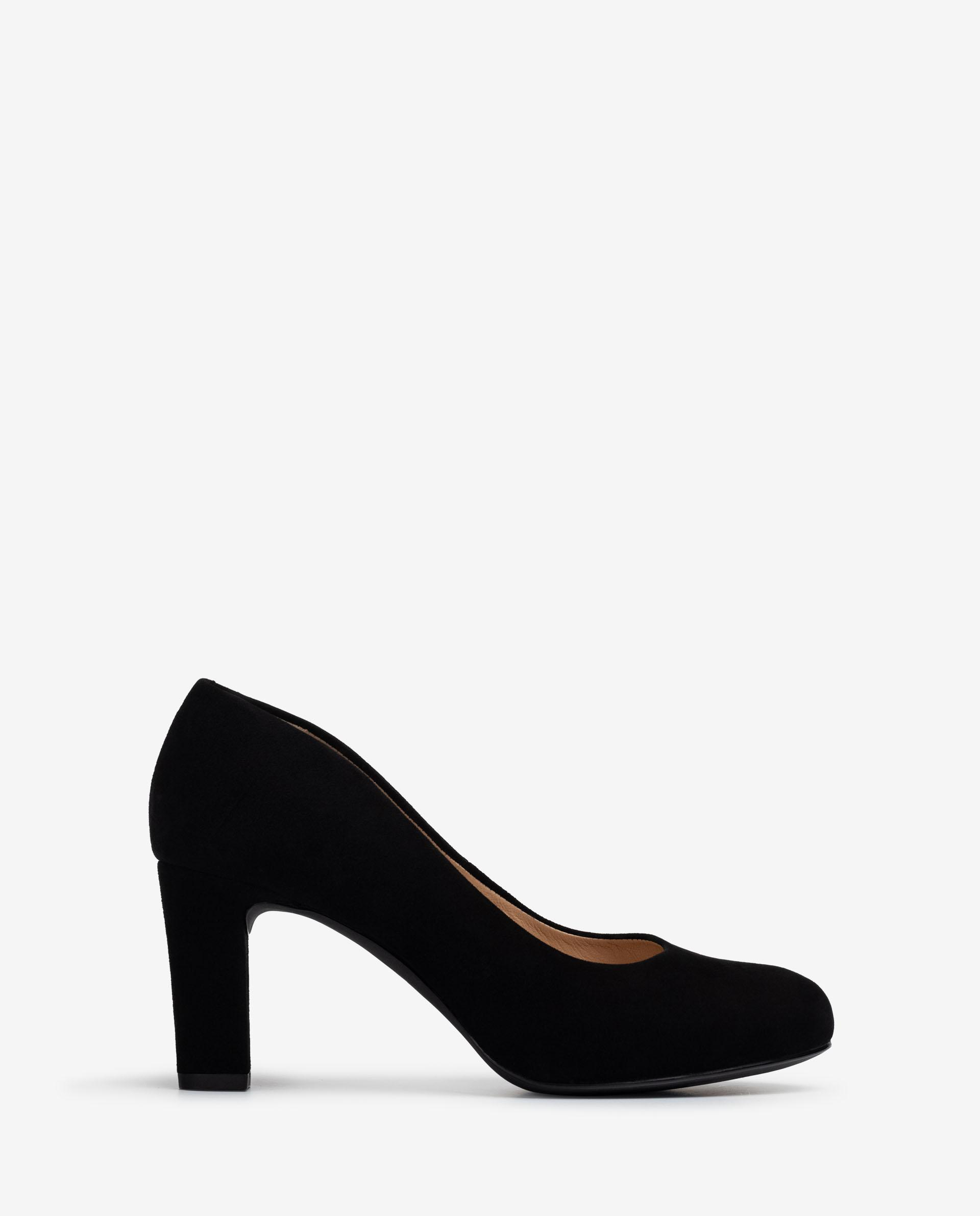 UNISA Kid leather pumps with heel and inner platform NUMIS_F21_KS 5