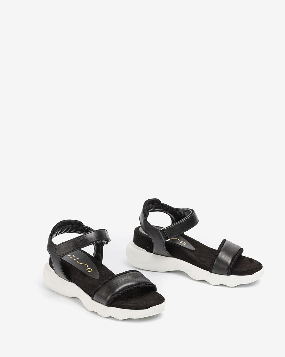 UNISA Sportliche Sandalen mit Kontrasten BOLO_NAT black 5