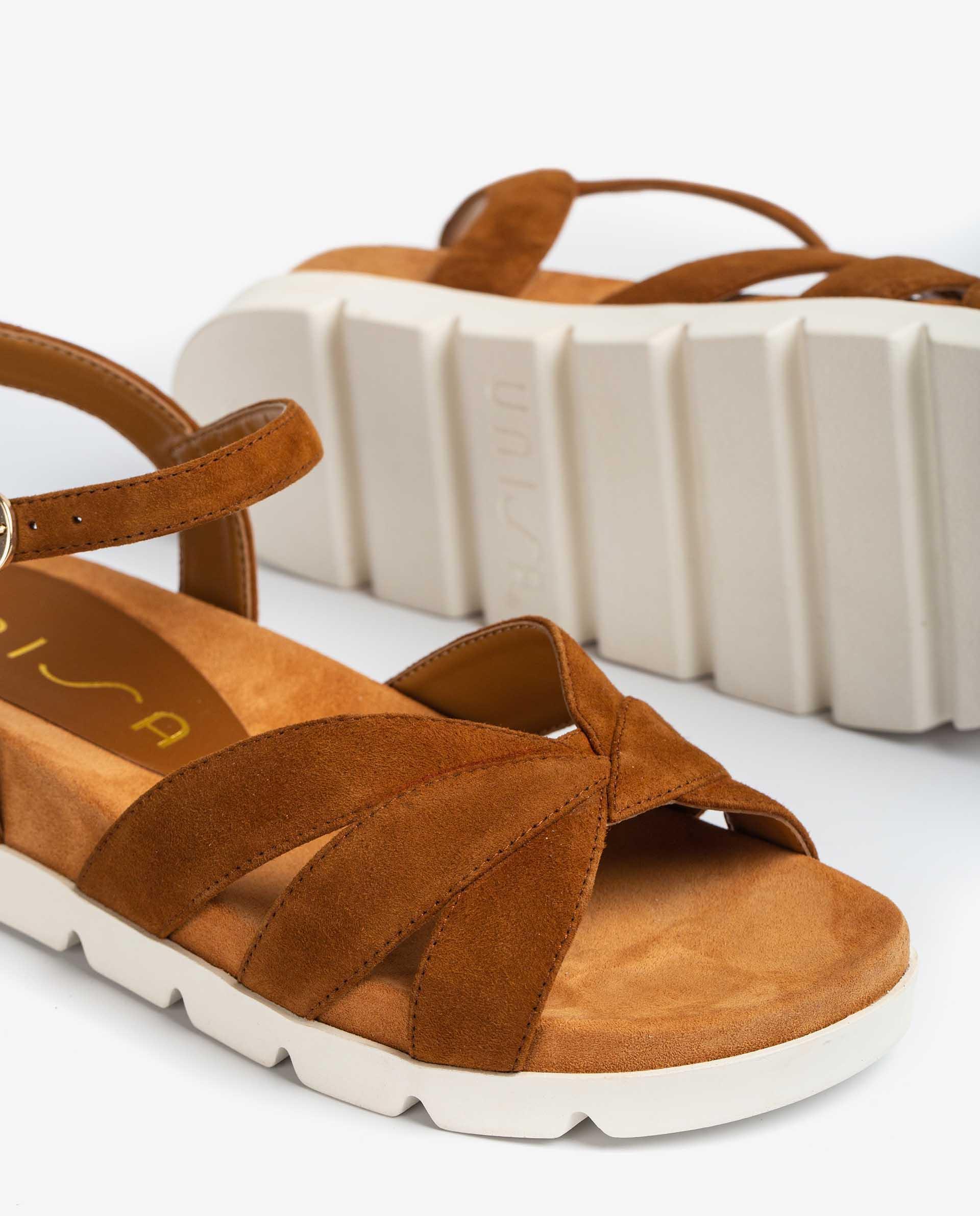 UNISA Flache Sandalen mit Sportsohle CEDILLO_KS 5