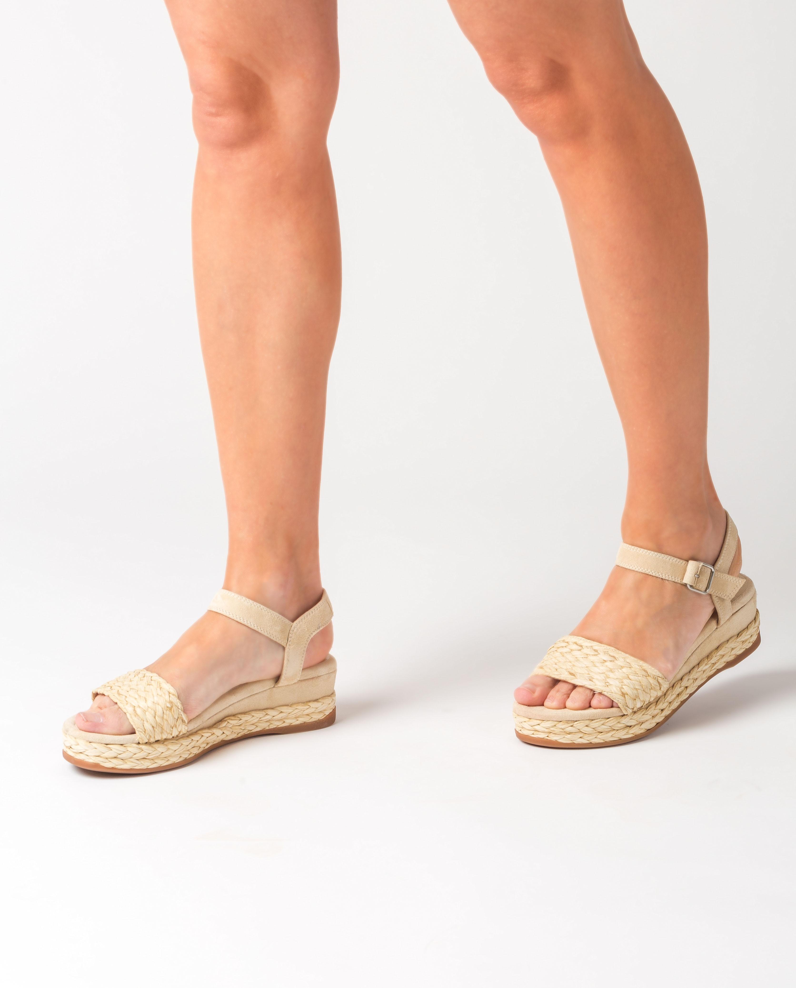 UNISA Flecht-Sandaletten aus Wildleder GABIR_KS nut 5