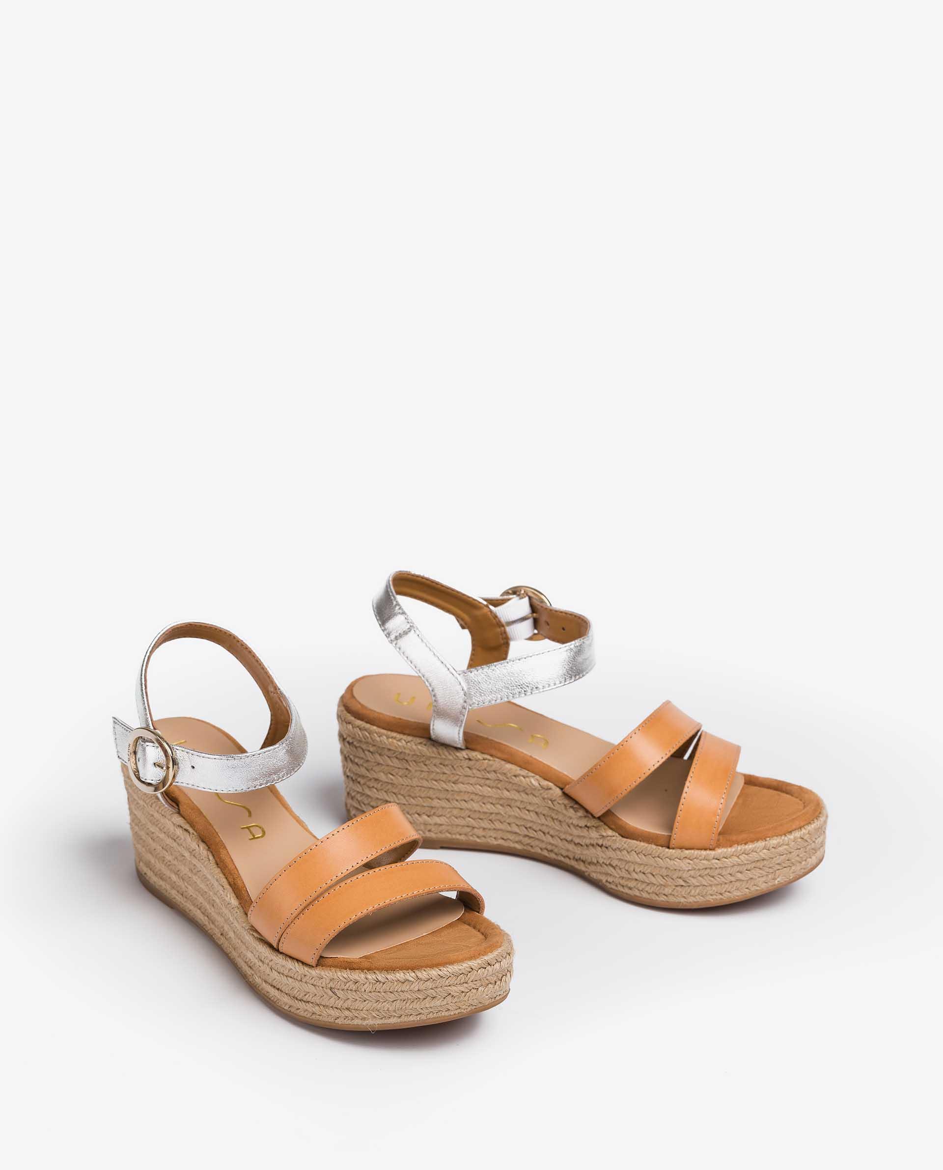 UNISA Sandaletten in Material-Mix KEVAR_RAN_LMT 5