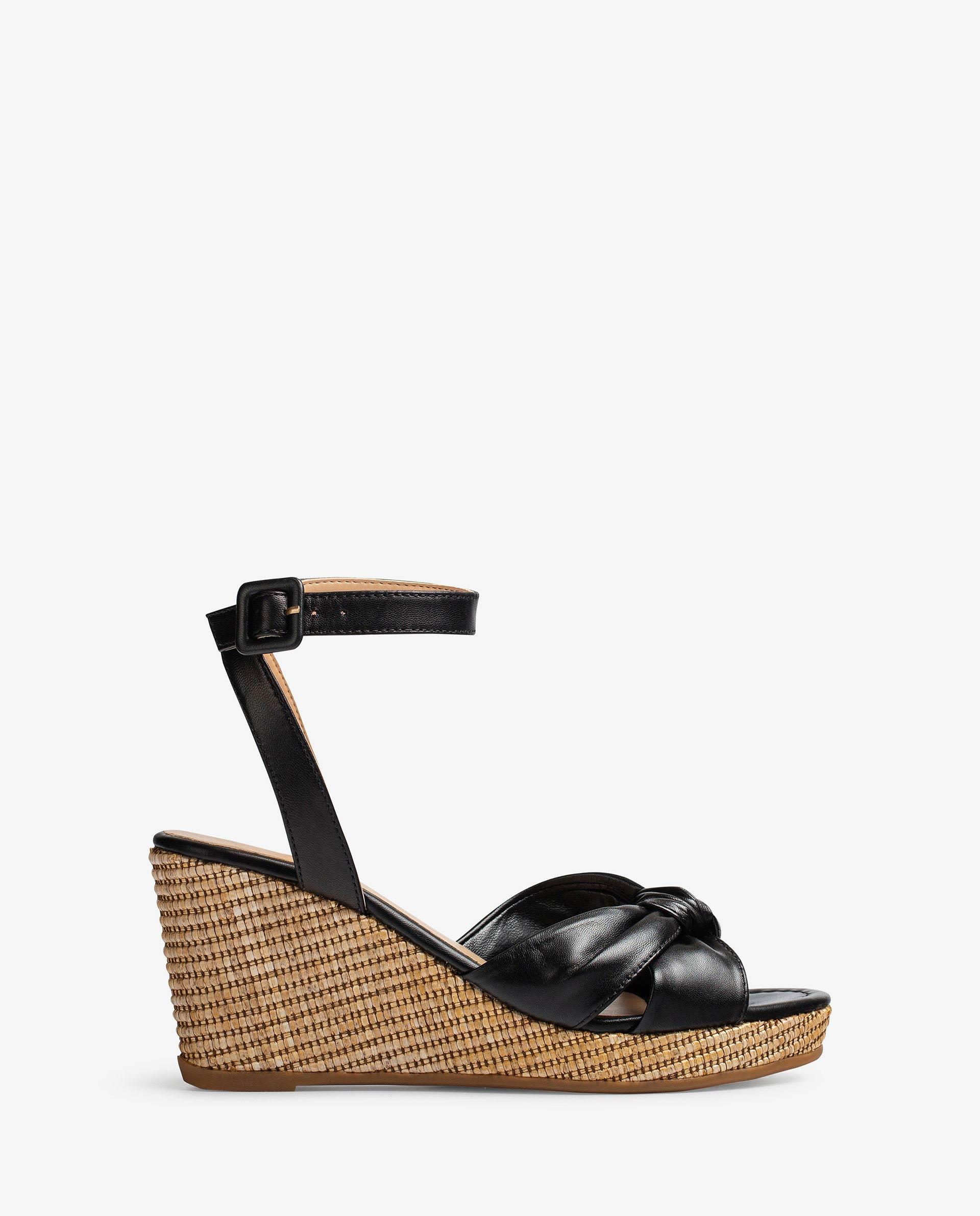 UNISA Sandalen mit Lederriemchen in Knotenform LAZKAO_NS 5