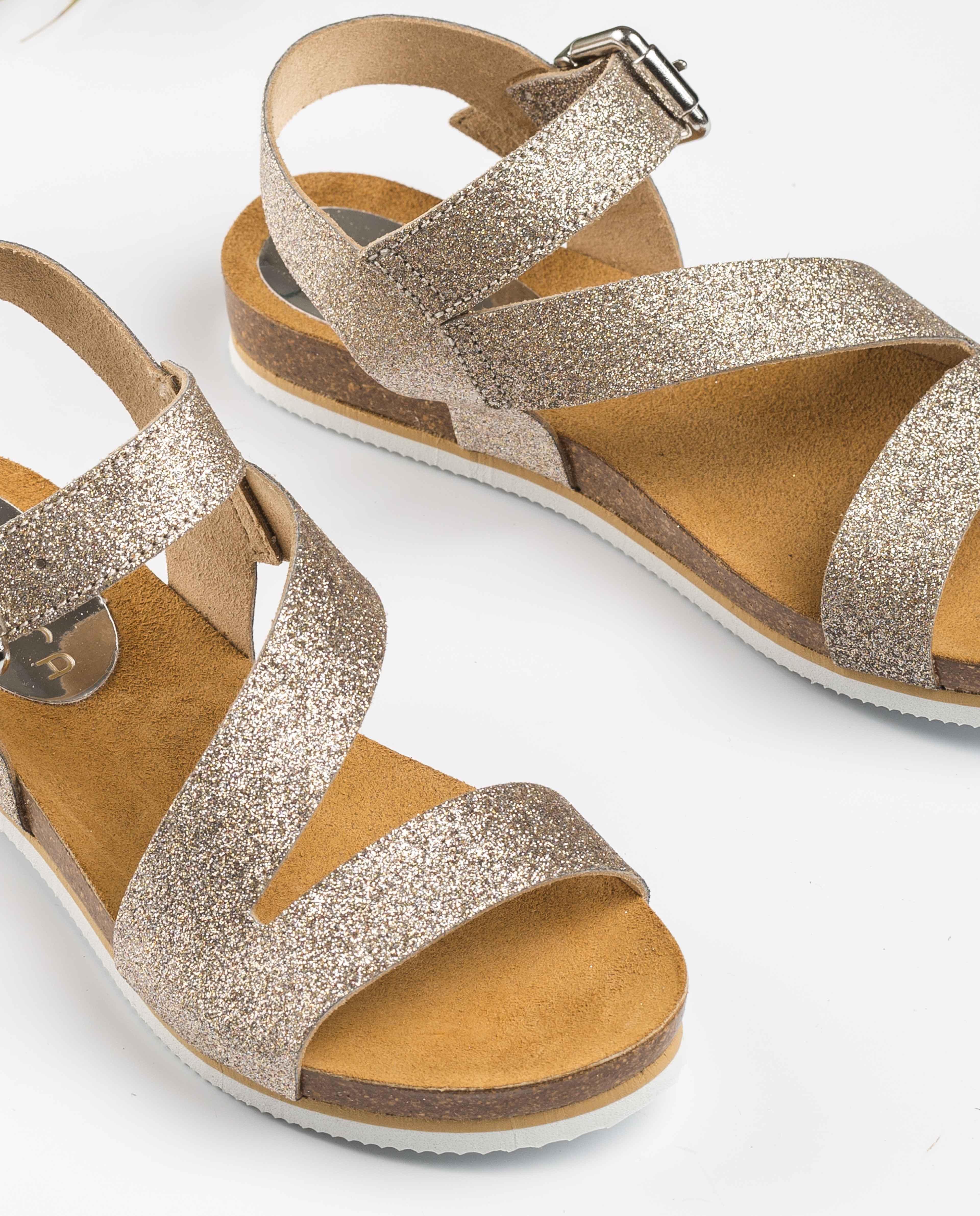 UNISA Bio-Sandalen mit Metallic-Effekt MAKENA_BRI mumm 5